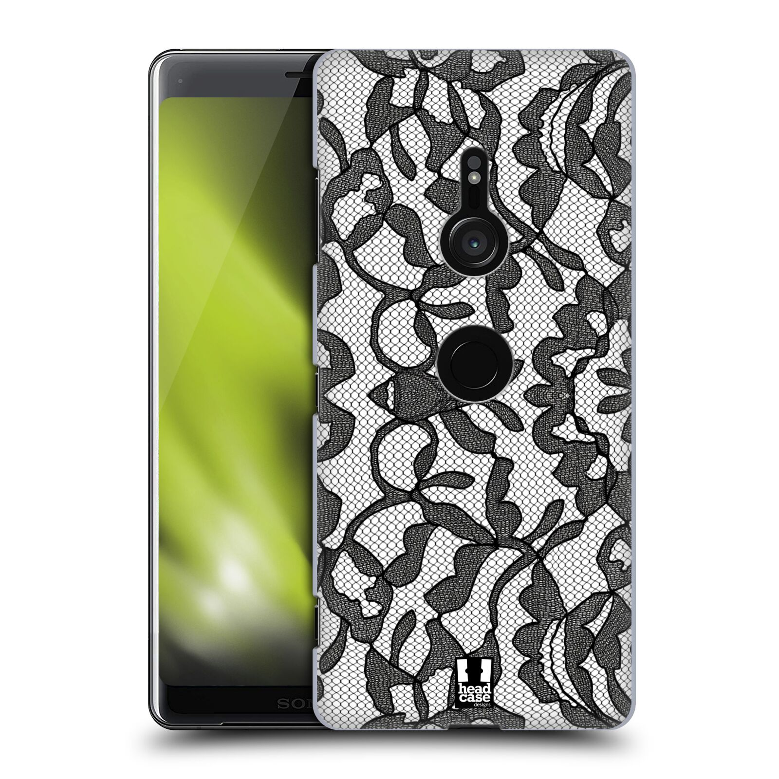 Plastové pouzdro na mobil Sony Xperia XZ3 - Head Case - LEAFY KRAJKA