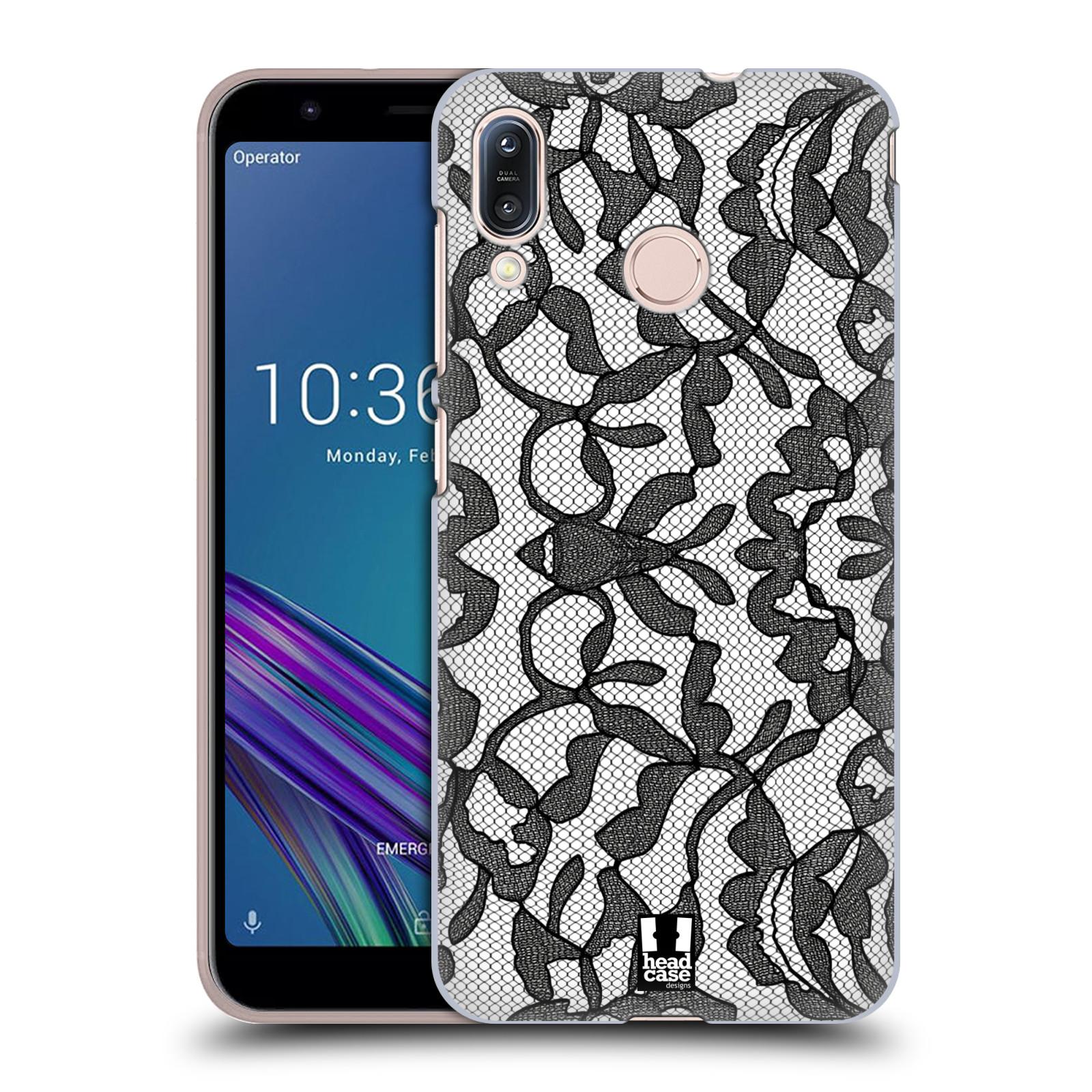 Plastové pouzdro na mobil Asus Zenfone Max M1 ZB555KL - Head Case - LEAFY KRAJKA