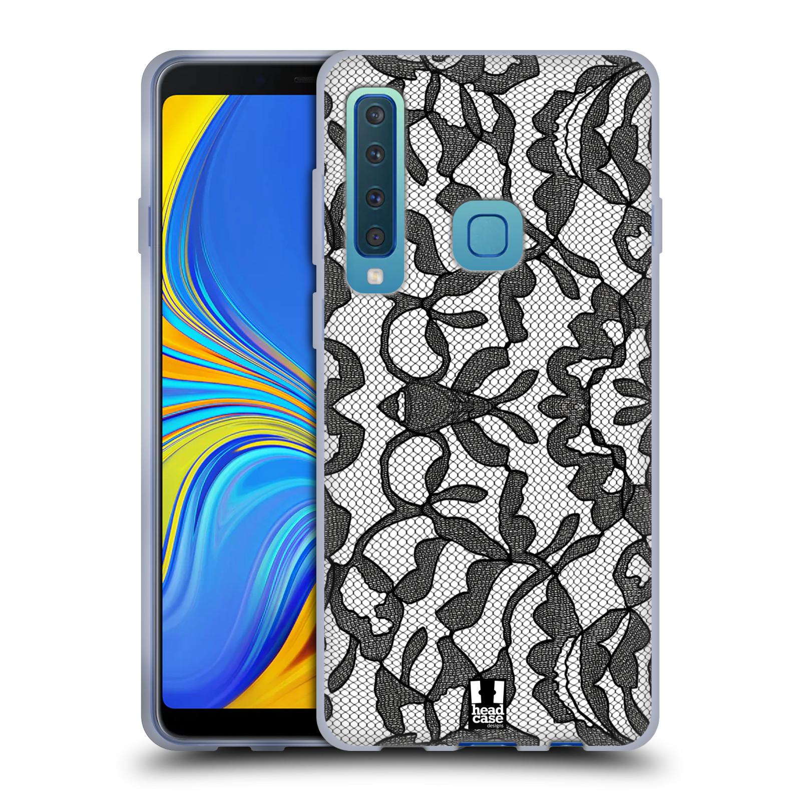 Silikonové pouzdro na mobil Samsung Galaxy A9 (2018) - Head Case - LEAFY KRAJKA