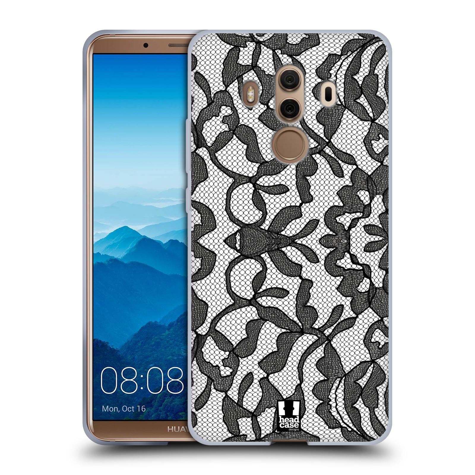 Silikonové pouzdro na mobil Huawei Mate 10 Pro - Head Case - LEAFY KRAJKA