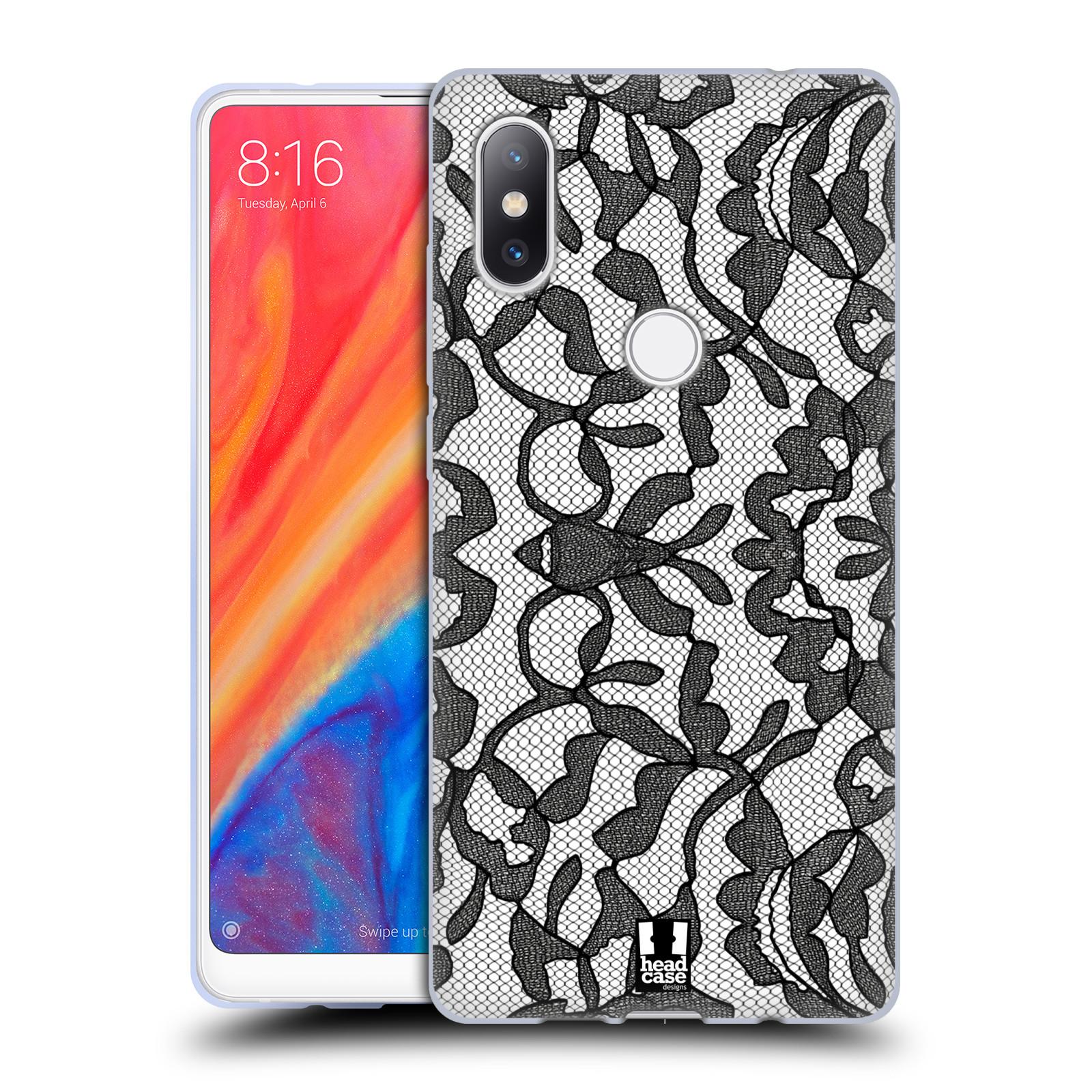 Silikonové pouzdro na mobil Xiaomi Mi Mix 2S - Head Case - LEAFY KRAJKA