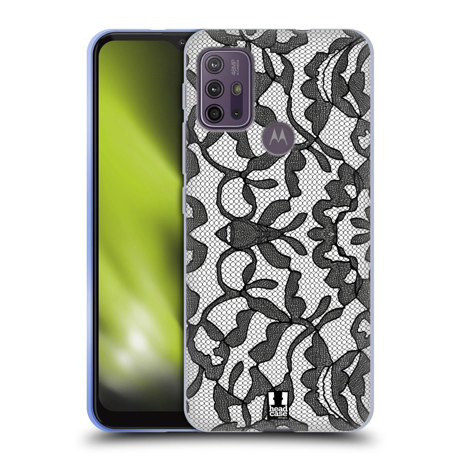 Silikonové pouzdro na mobil Motorola Moto G10 / G30 - Head Case - LEAFY KRAJKA