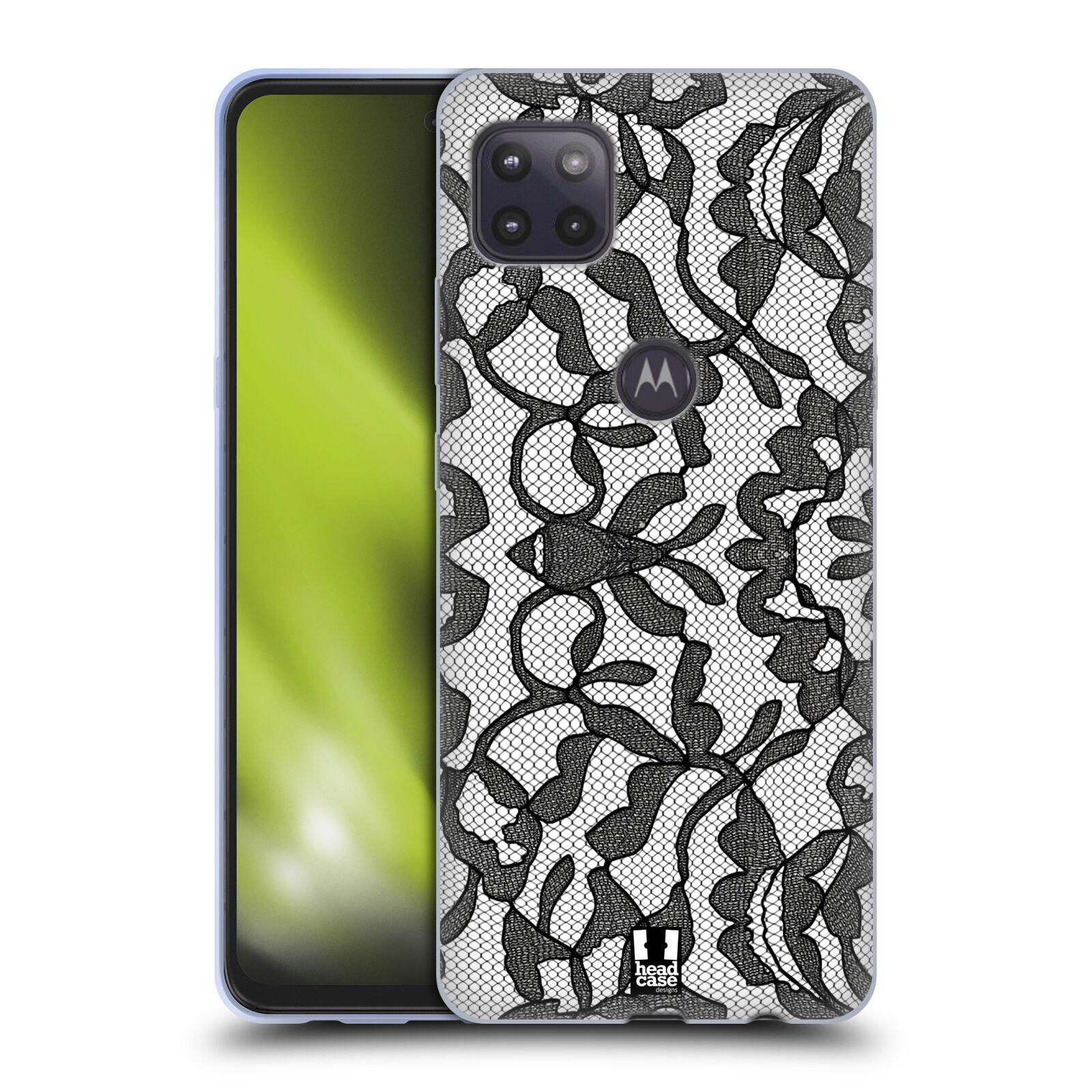 Silikonové pouzdro na mobil Motorola Moto G 5G - Head Case - LEAFY KRAJKA