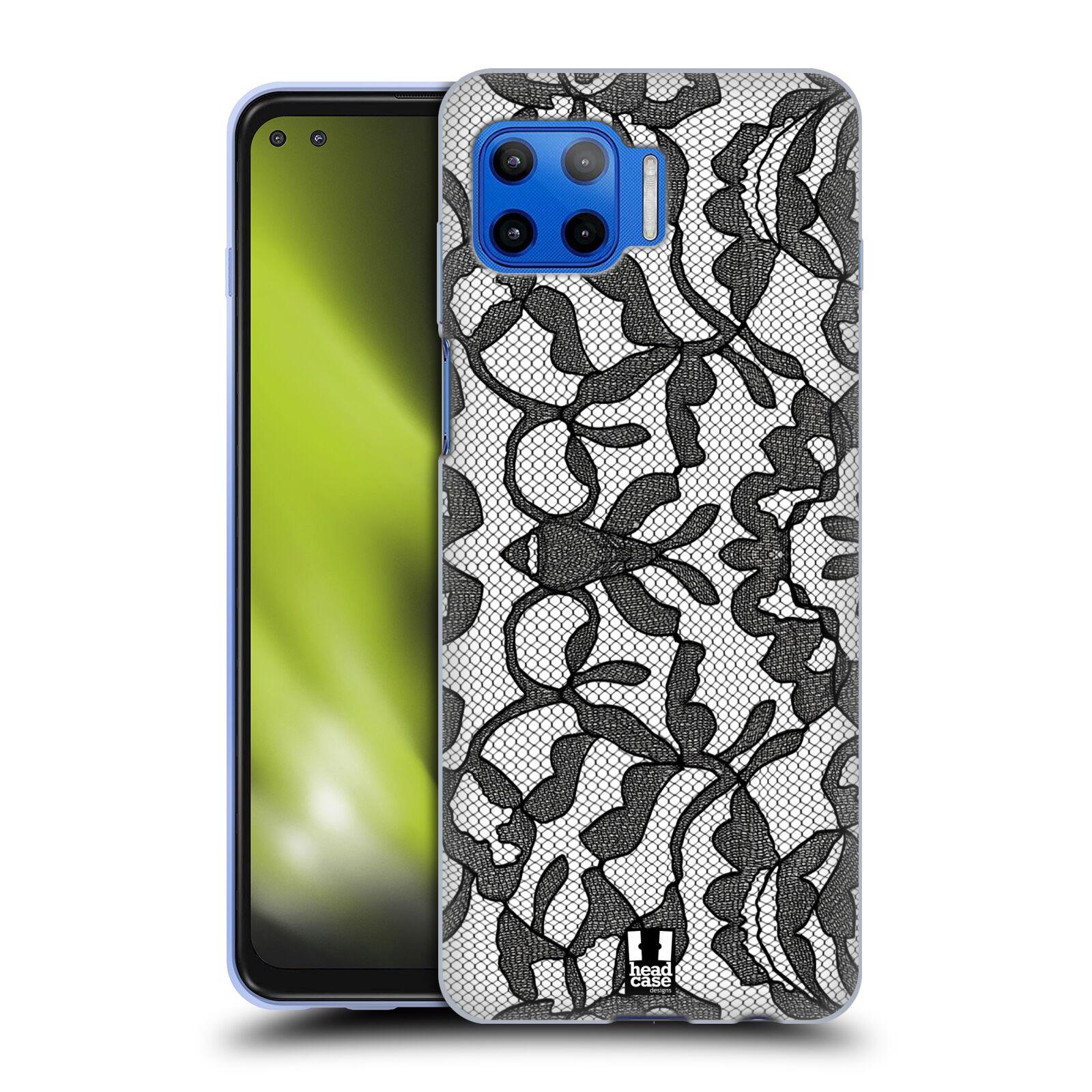 Silikonové pouzdro na mobil Motorola Moto G 5G Plus - Head Case - LEAFY KRAJKA