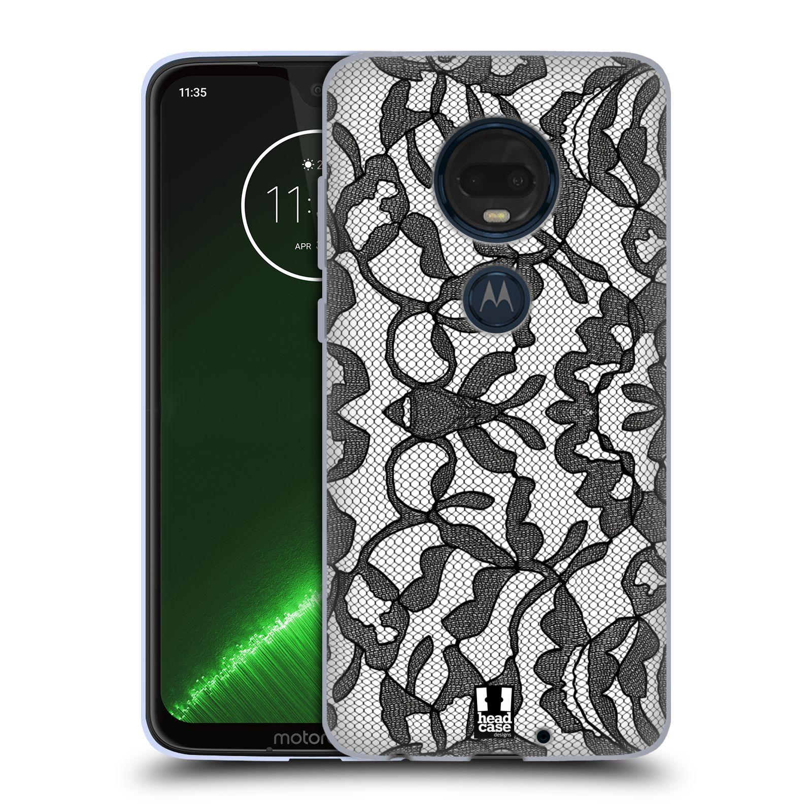 Silikonové pouzdro na mobil Motorola Moto G7 Plus - Head Case - LEAFY KRAJKA
