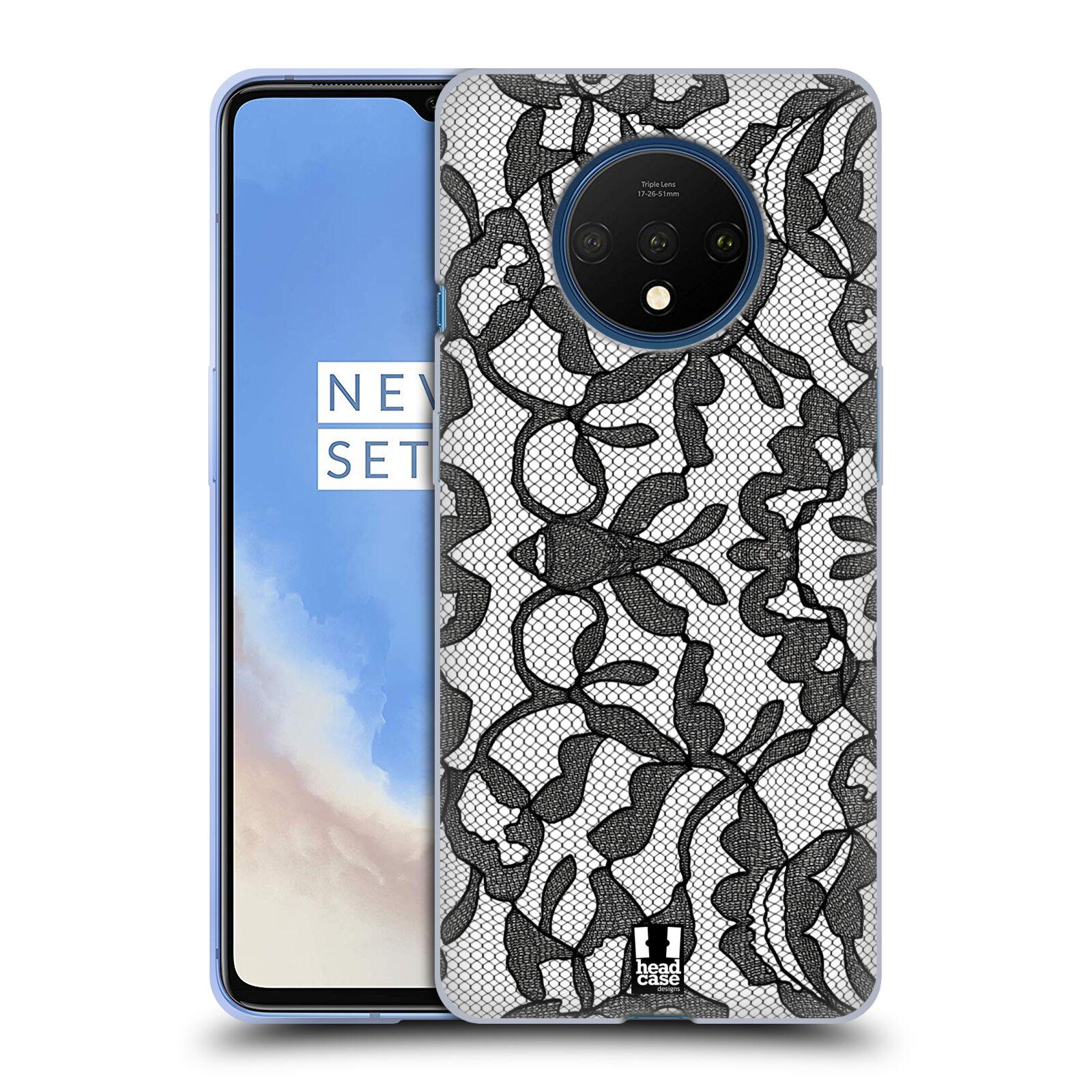 Silikonové pouzdro na mobil OnePlus 7T - Head Case - LEAFY KRAJKA