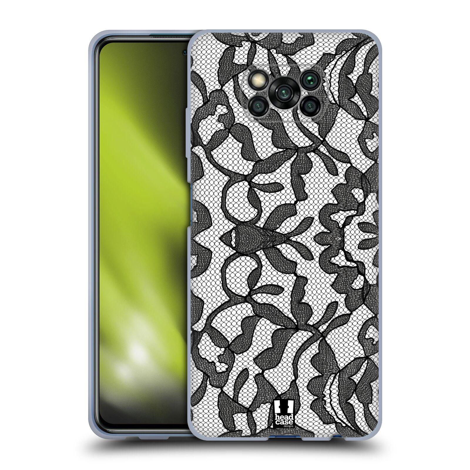 Silikonové pouzdro na mobil Xiaomi Poco X3 NFC - Head Case - LEAFY KRAJKA