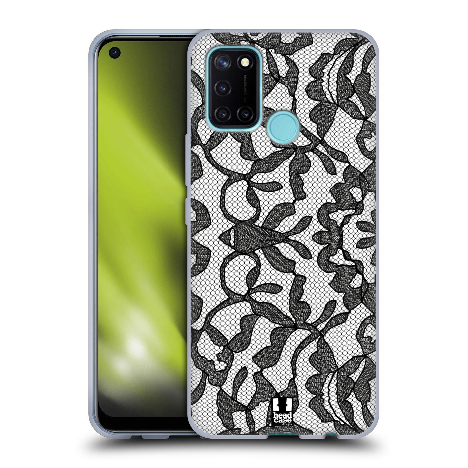Silikonové pouzdro na mobil Realme 7i - Head Case - LEAFY KRAJKA