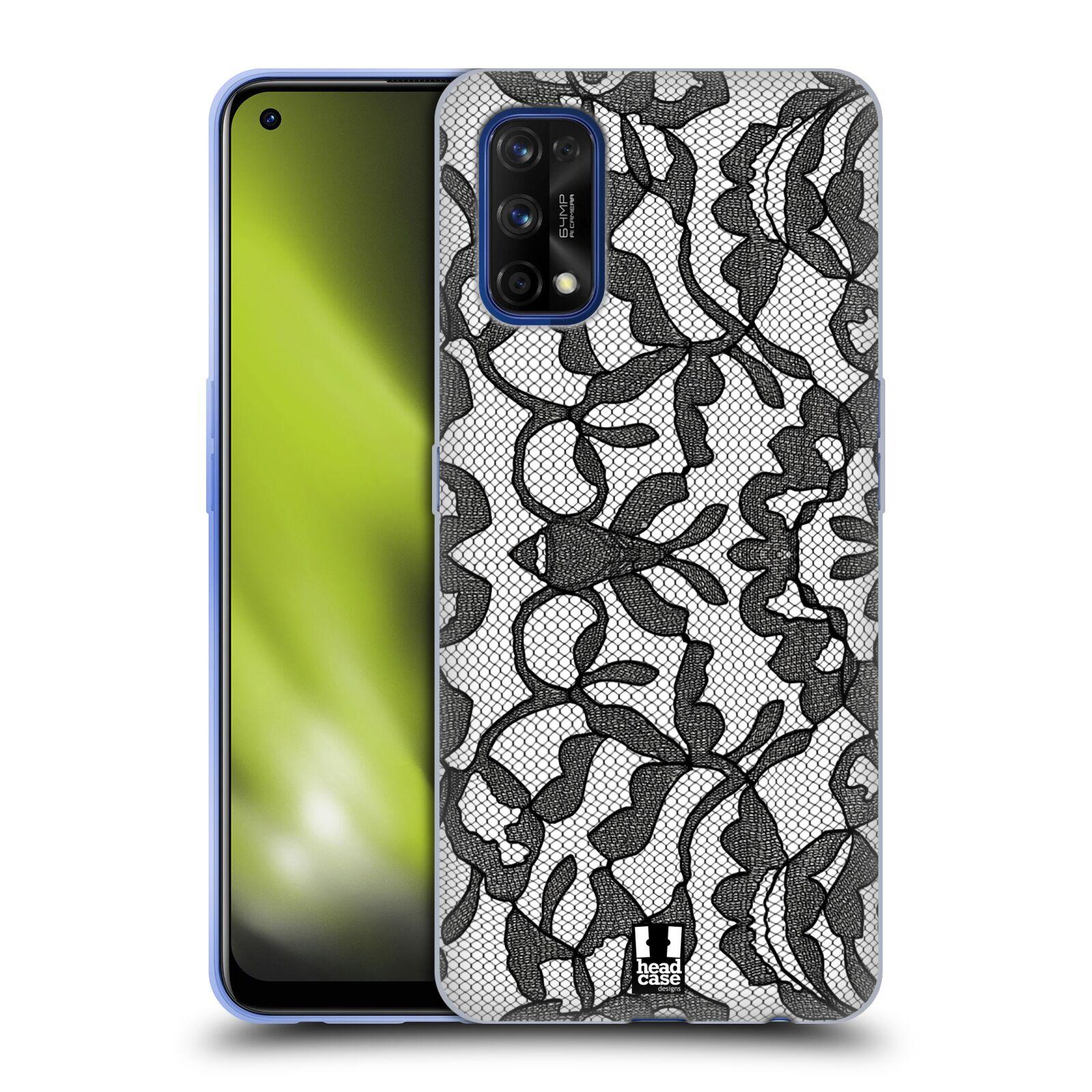 Silikonové pouzdro na mobil Realme 7 Pro - Head Case - LEAFY KRAJKA