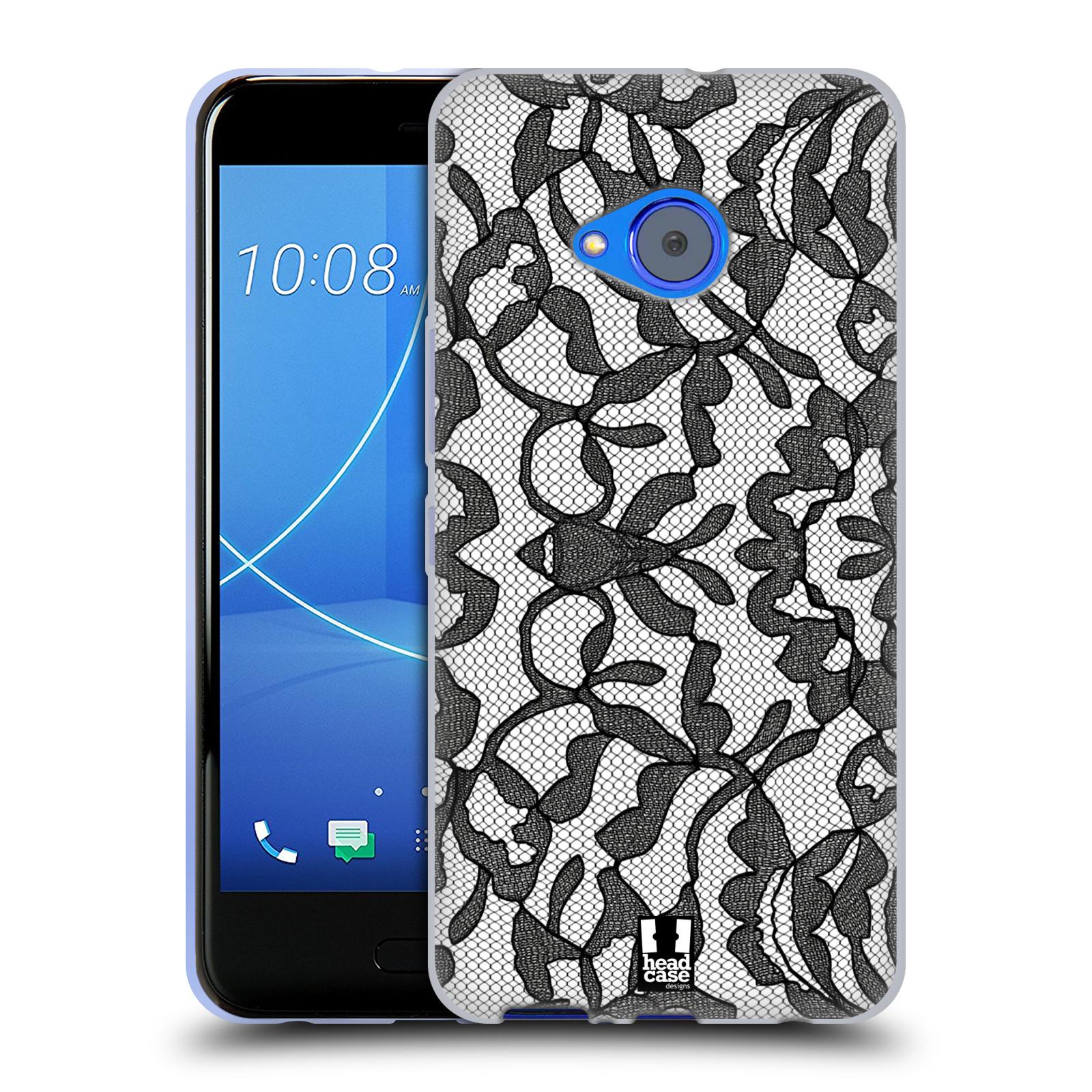 Silikonové pouzdro na mobil HTC U11 Life - Head Case - LEAFY KRAJKA