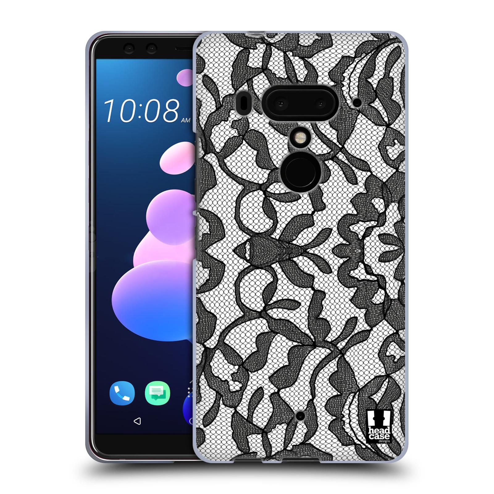 Silikonové pouzdro na mobil HTC U12 Plus - Head Case - LEAFY KRAJKA