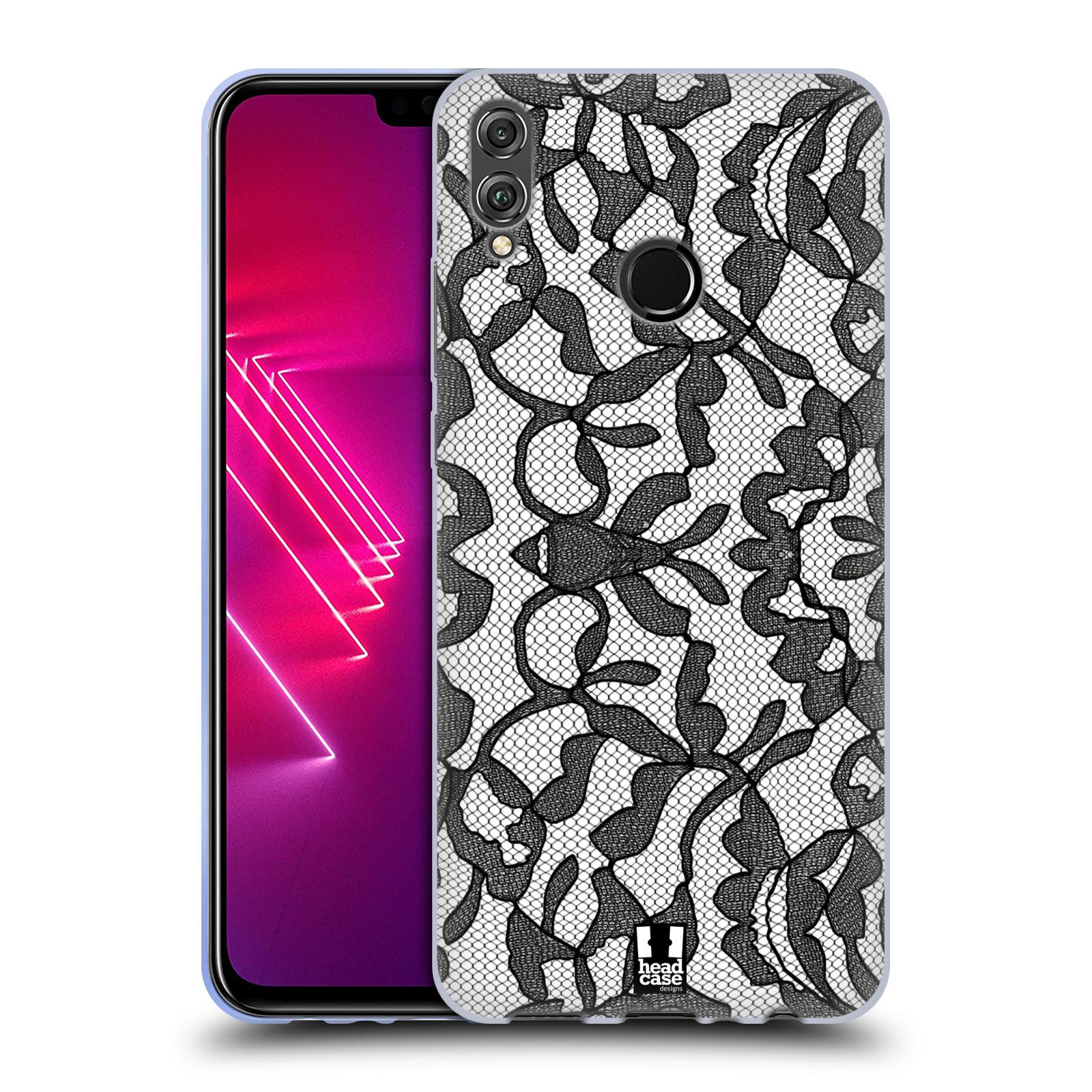 Silikonové pouzdro na mobil Honor View 10 Lite - Head Case - LEAFY KRAJKA