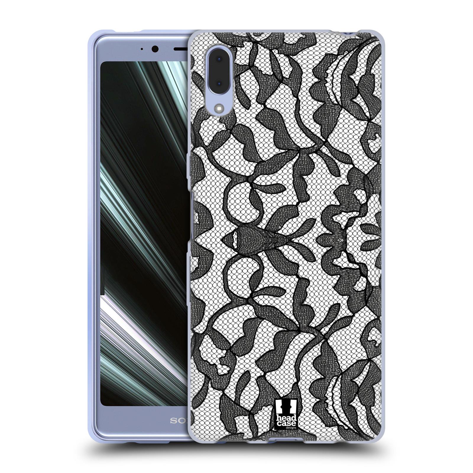 Silikonové pouzdro na mobil Sony Xperia L3 - Head Case - LEAFY KRAJKA