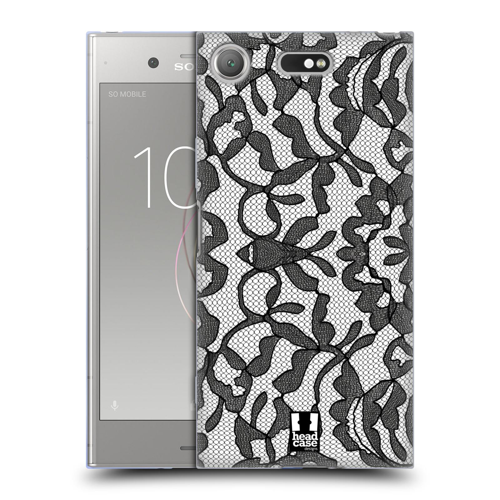 Silikonové pouzdro na mobil Sony Xperia XZ1 Compact - Head Case - LEAFY KRAJKA