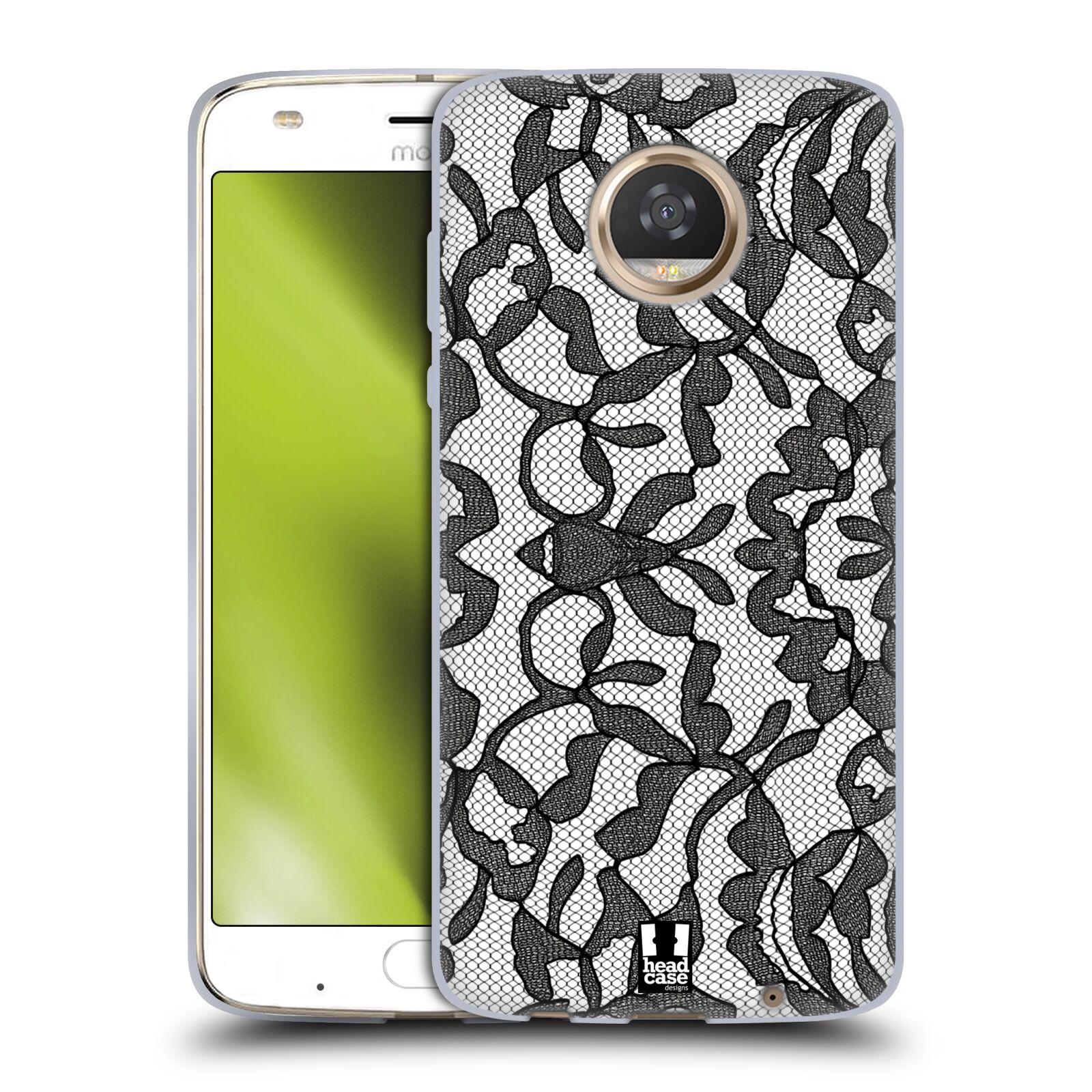 Silikonové pouzdro na mobil Lenovo Moto Z2 Play - Head Case - LEAFY KRAJKA