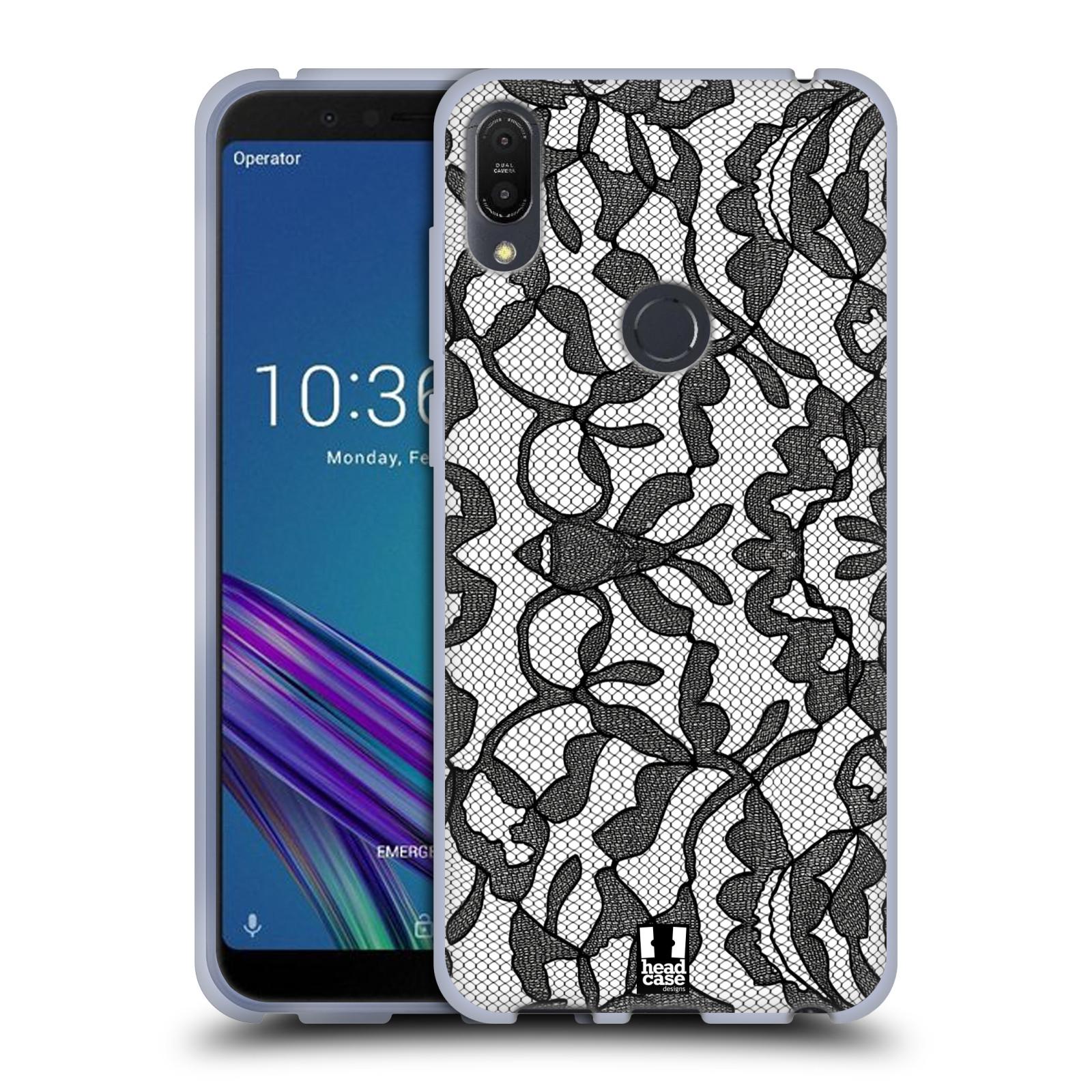 Silikonové pouzdro na mobil Asus ZenFone Max Pro (M1) - Head Case - LEAFY KRAJKA