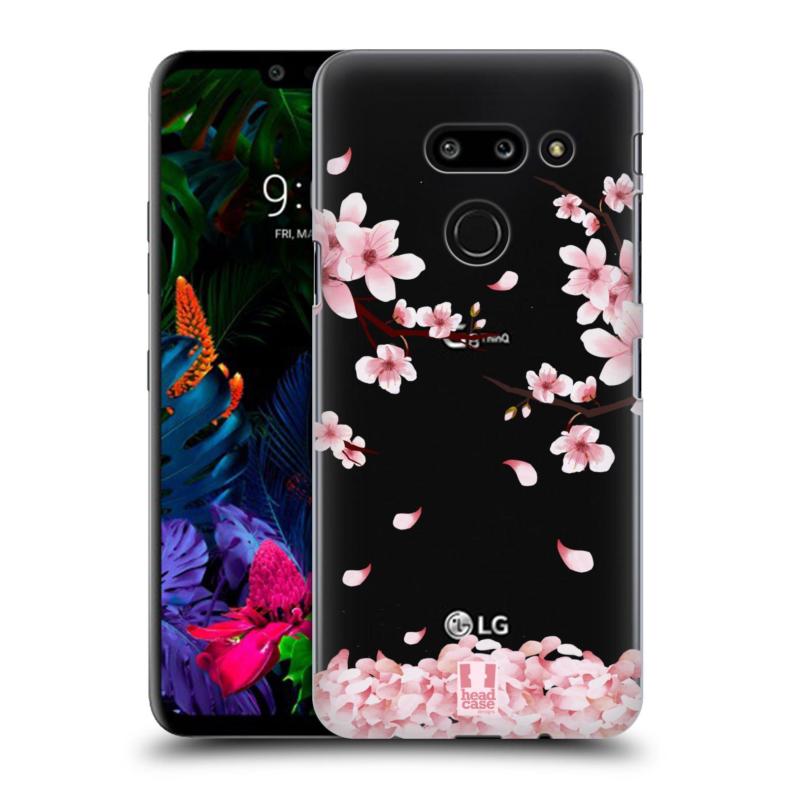 Plastové pouzdro na mobil LG G8 ThinQ - Head Case - Květy a větvičky