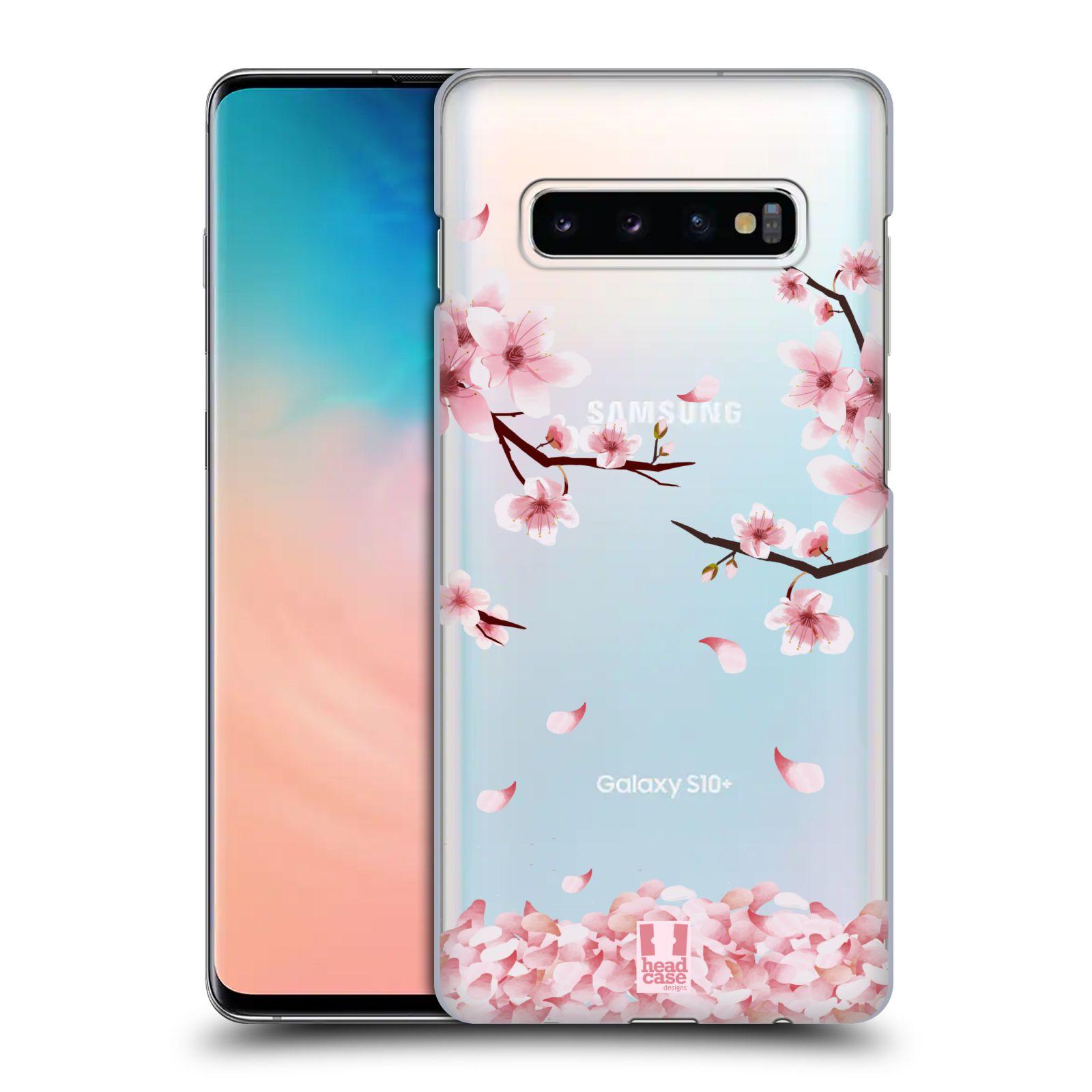 Plastové pouzdro na mobil Samsung Galaxy S10 Plus - Head Case - Květy a větvičky