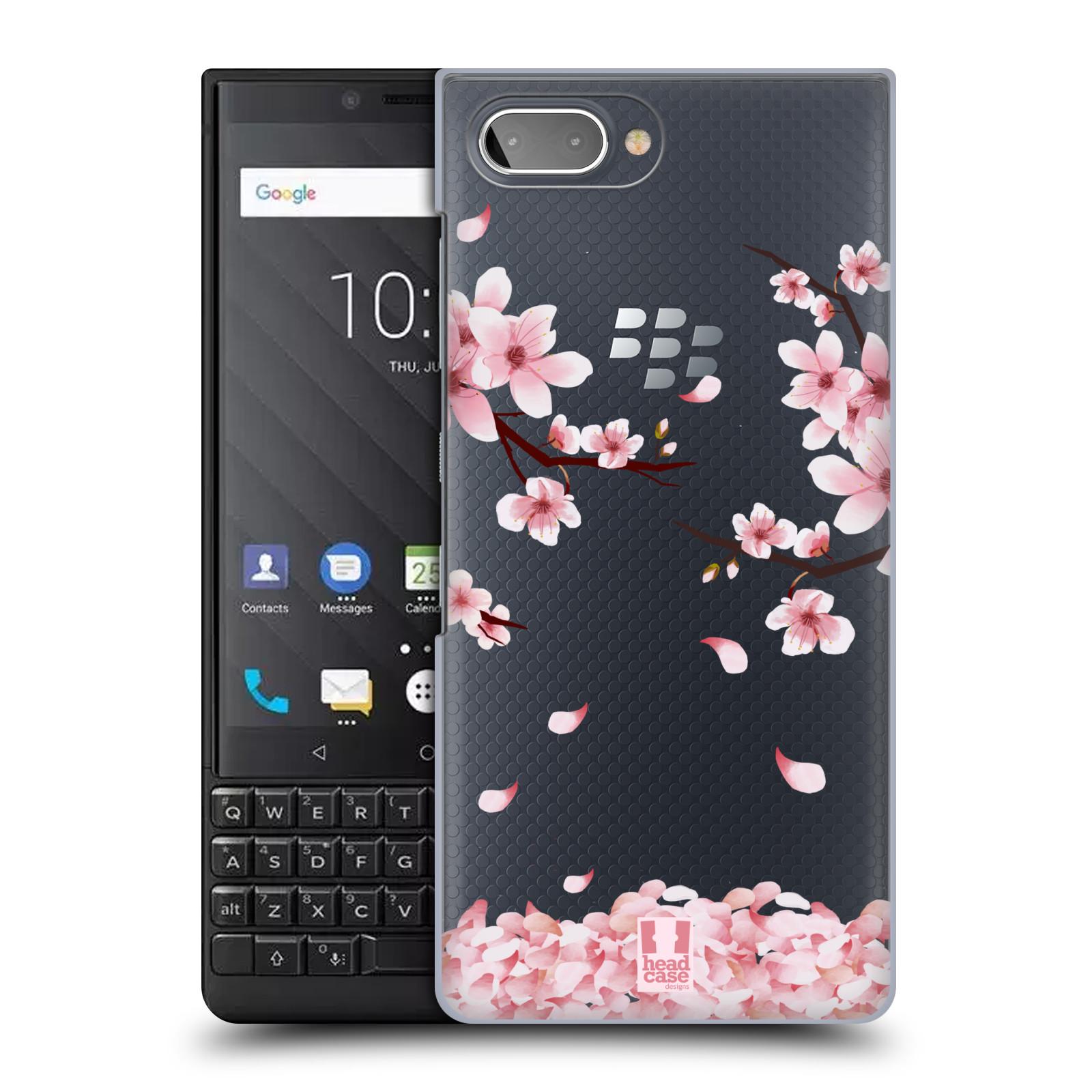 Plastové pouzdro na mobil Blackberry Key 2 - Head Case - Květy a větvičky