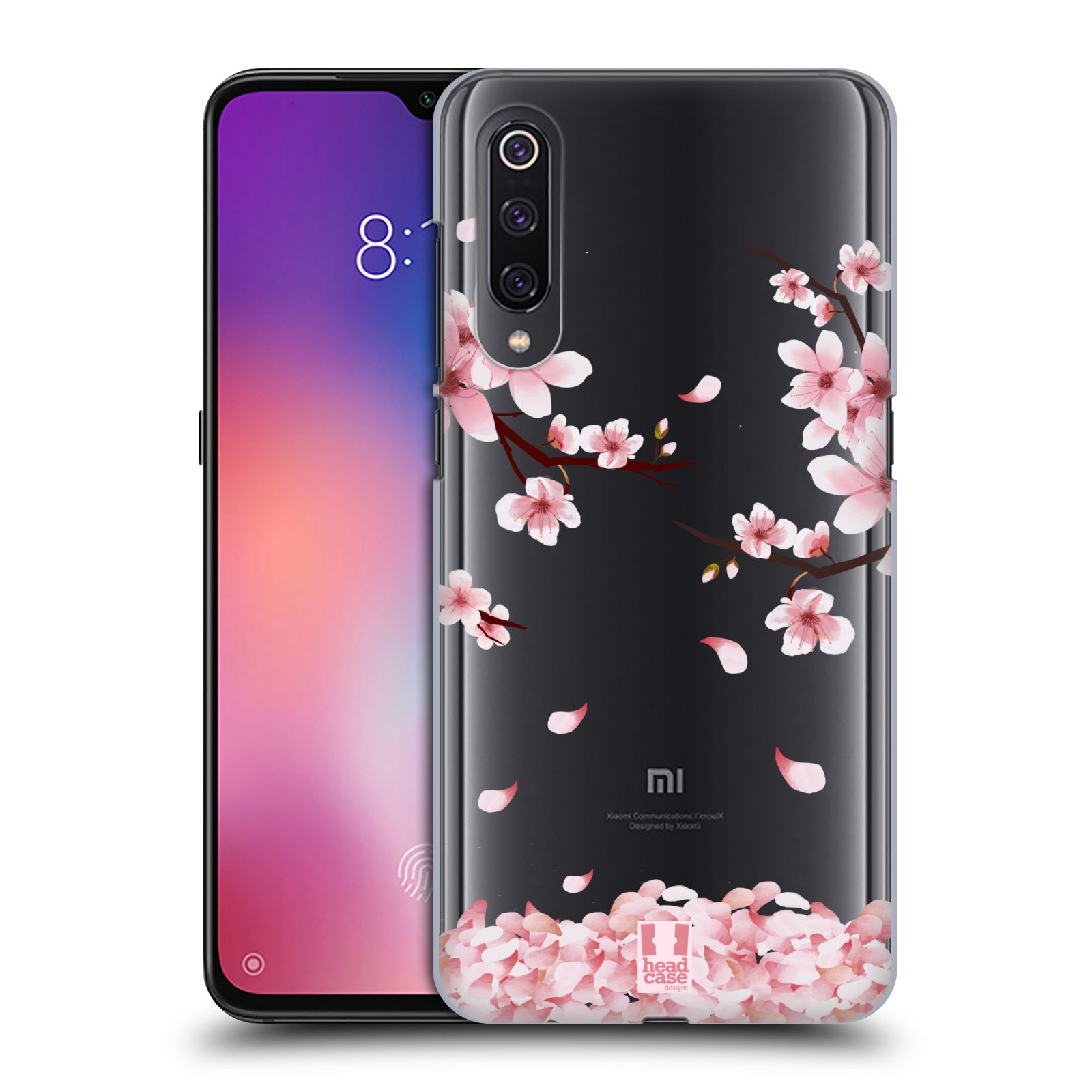 Plastové pouzdro na mobil Xiaomi Mi 9 - Head Case - Květy a větvičky