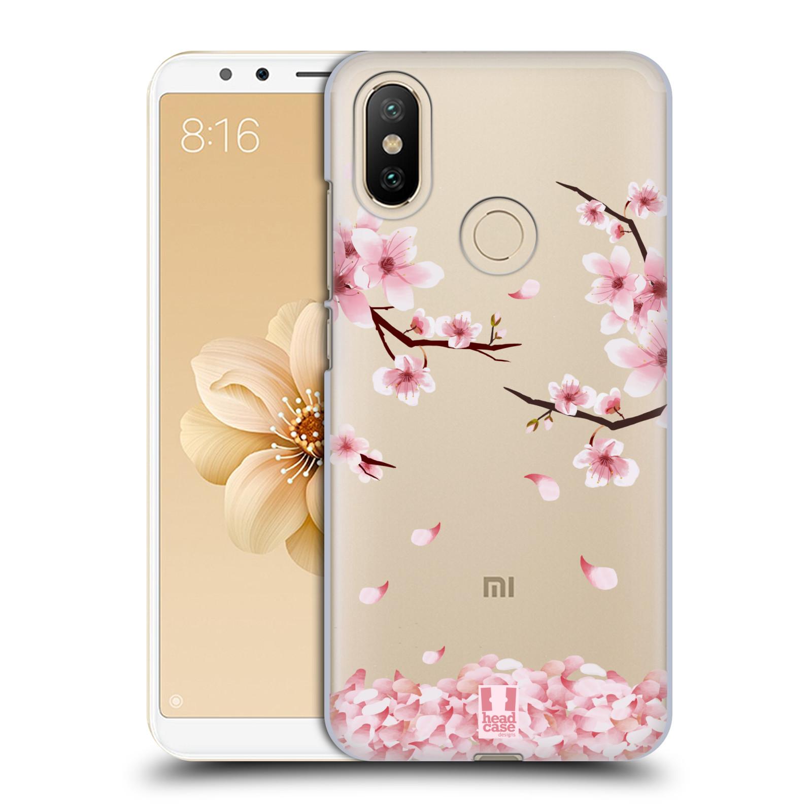 Plastové pouzdro na mobil Xiaomi Mi A2 - Head Case - Květy a větvičky