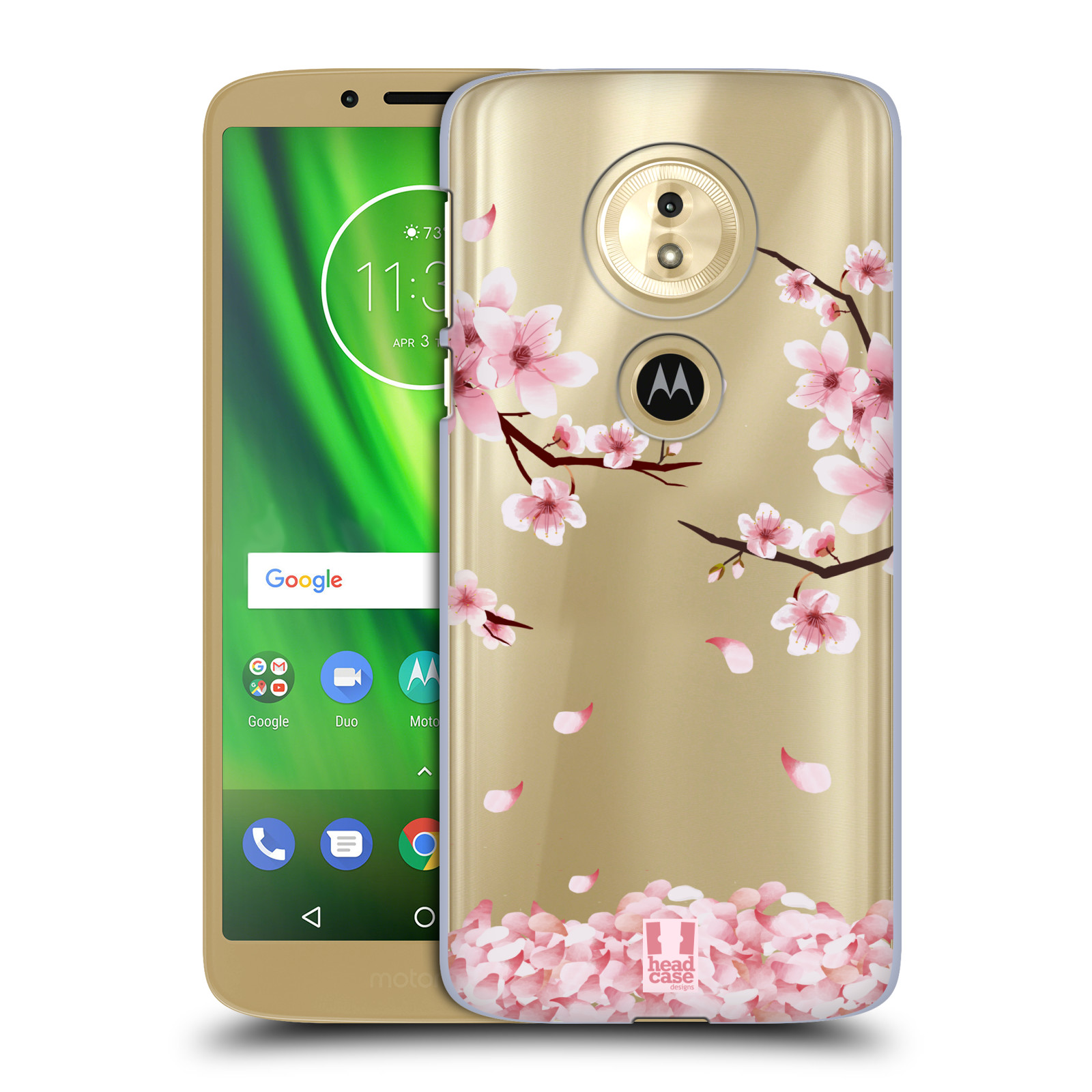 Plastové pouzdro na mobil Motorola Moto G6 Play - Head Case - Květy a větvičky
