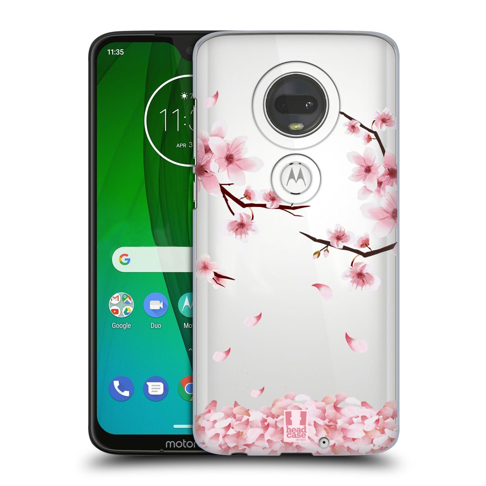 Plastové pouzdro na mobil Motorola Moto G7 - Head Case - Květy a větvičky