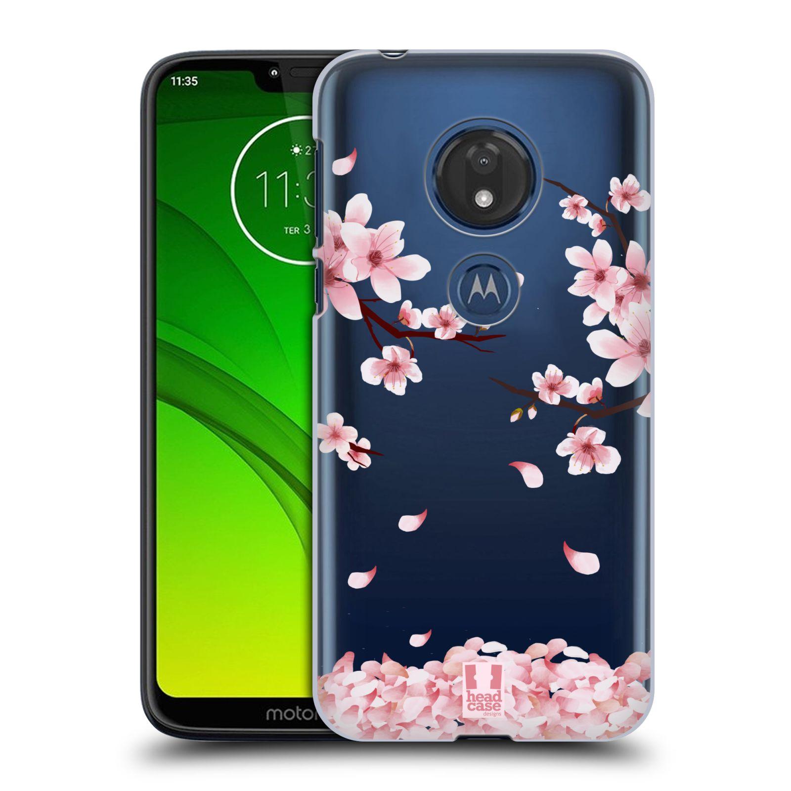 Plastové pouzdro na mobil Motorola Moto G7 Play - Head Case - Květy a větvičky