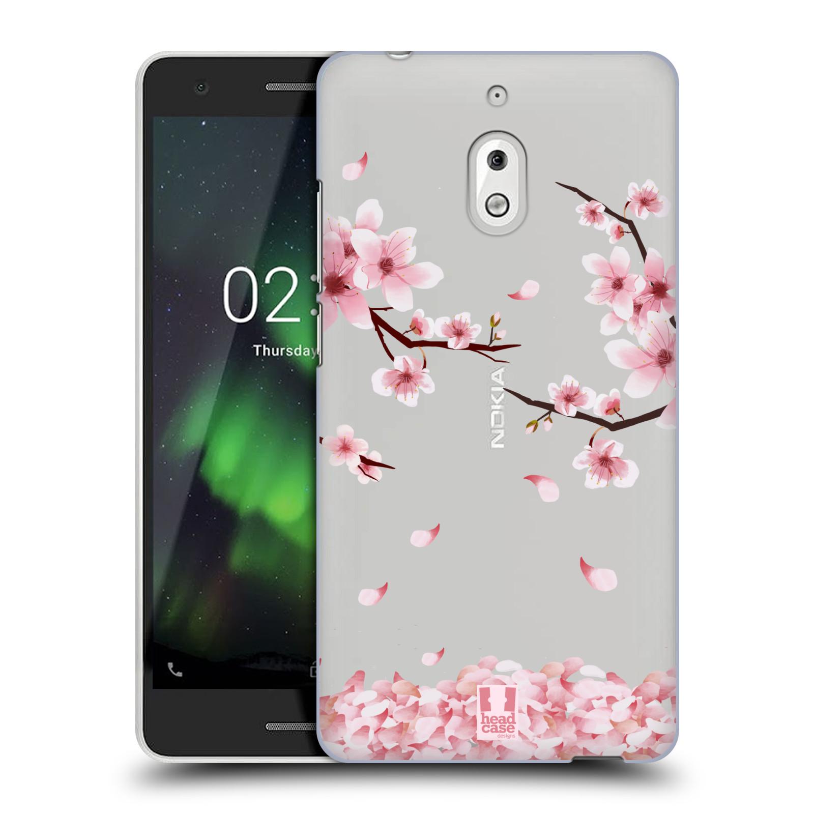 Plastové pouzdro na mobil Nokia 2.1 - Head Case - Květy a větvičky