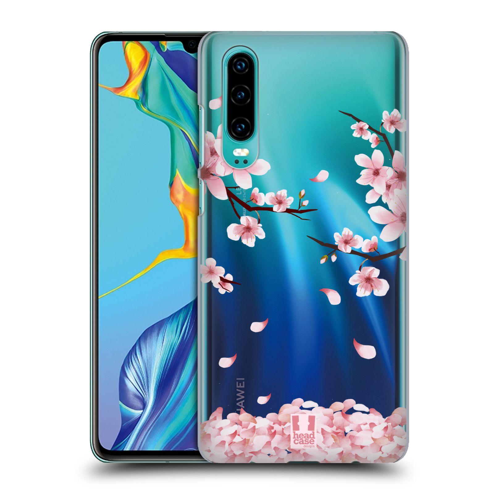Plastové pouzdro na mobil Huawei P30 - Head Case - Květy a větvičky