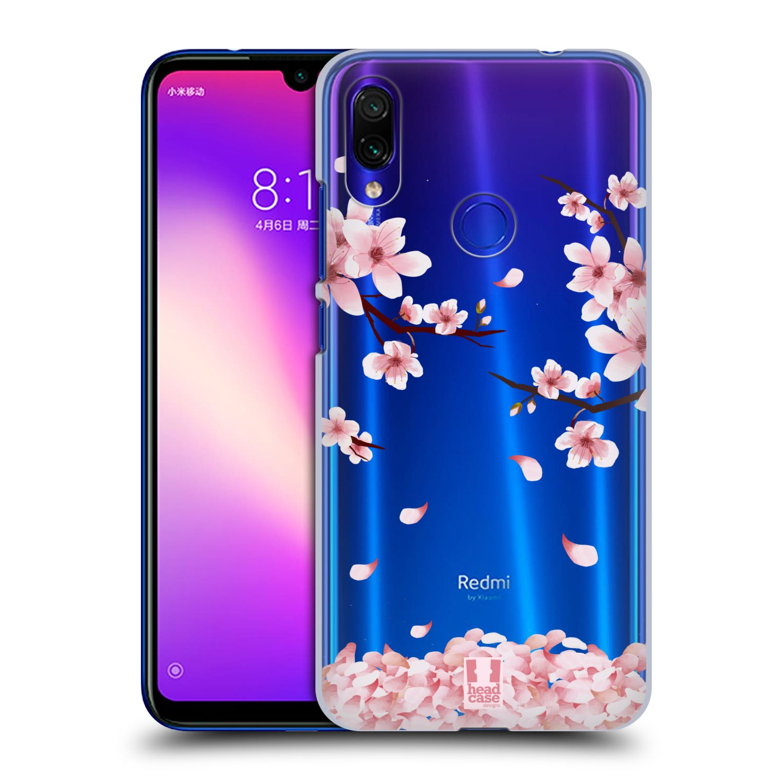Plastové pouzdro na mobil Xiaomi Redmi Note 7 - Head Case - Květy a větvičky