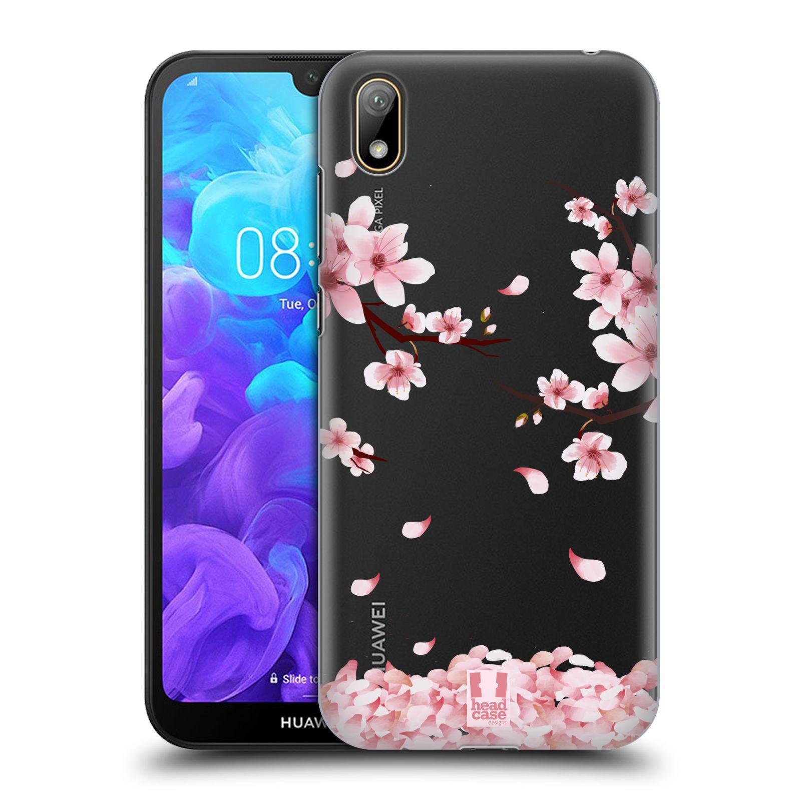 Plastové pouzdro na mobil Honor 8S - Head Case - Květy a větvičky