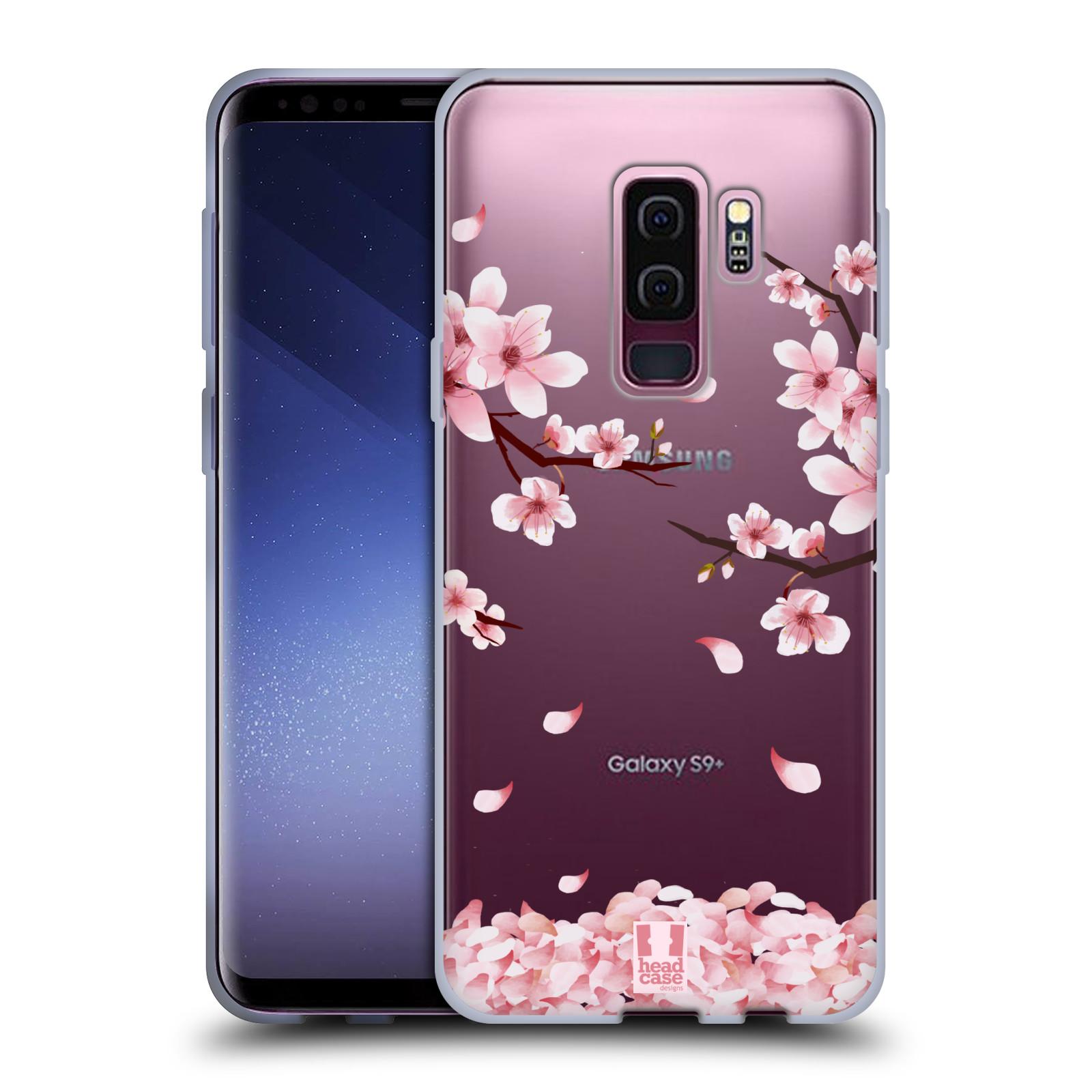 Silikonové pouzdro na mobil Samsung Galaxy S9 Plus - Head Case - Květy a větvičky