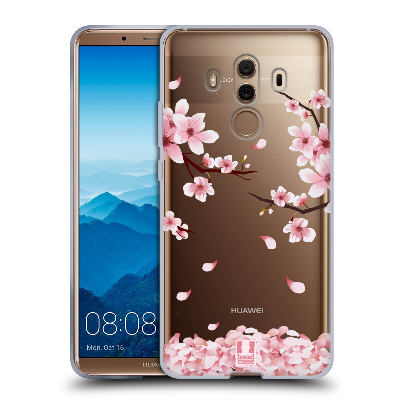 Silikonové pouzdro na mobil Huawei Mate 10 Pro - Head Case - Květy a větvičky