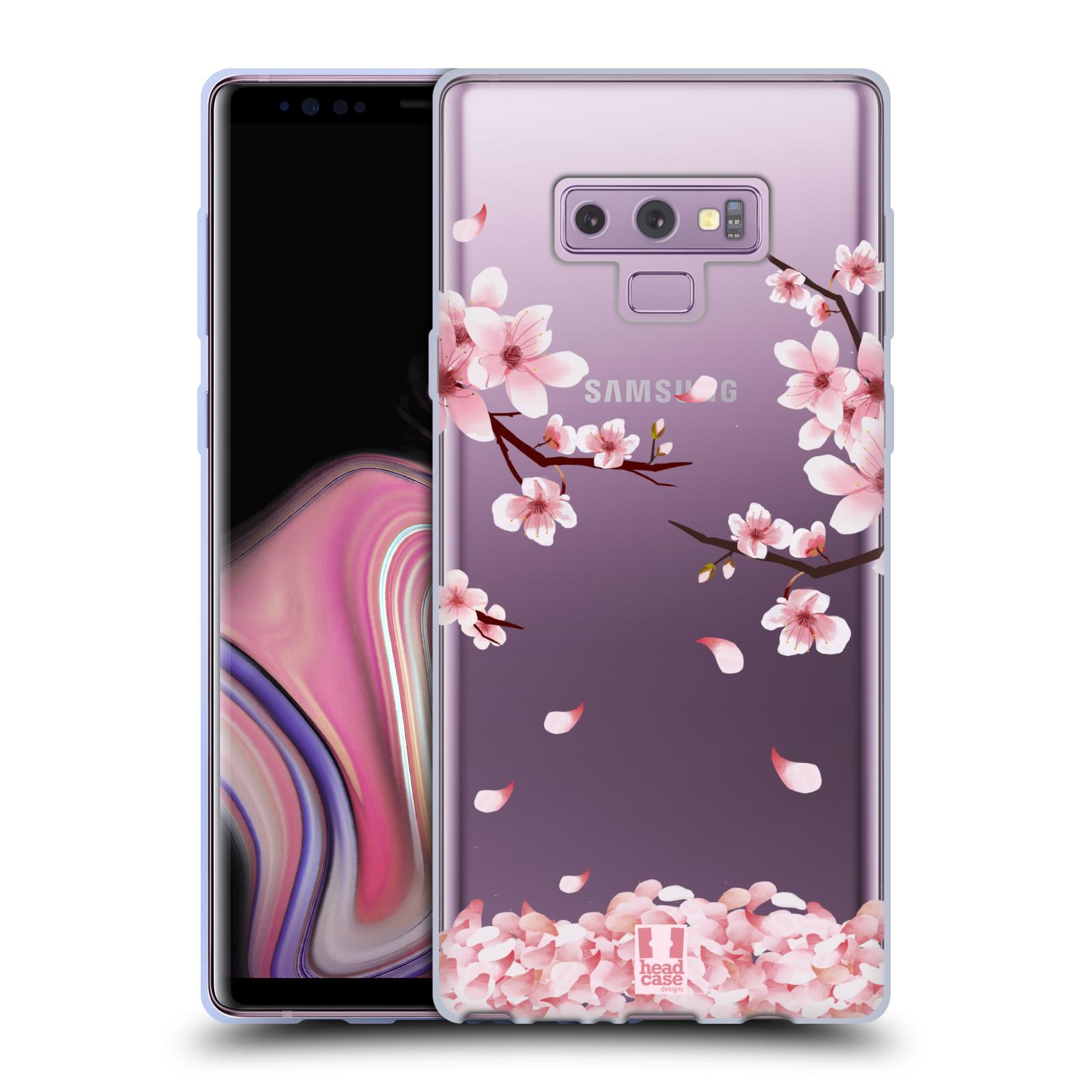 Silikonové pouzdro na mobil Samsung Galaxy Note 9 - Head Case - Květy a větvičky