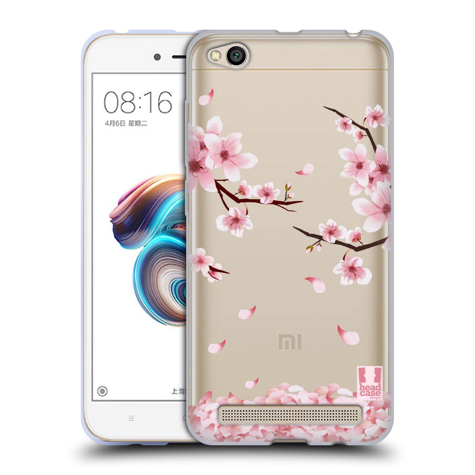 Silikonové pouzdro na mobil Xiaomi Redmi 5A - Head Case - Květy a větvičky