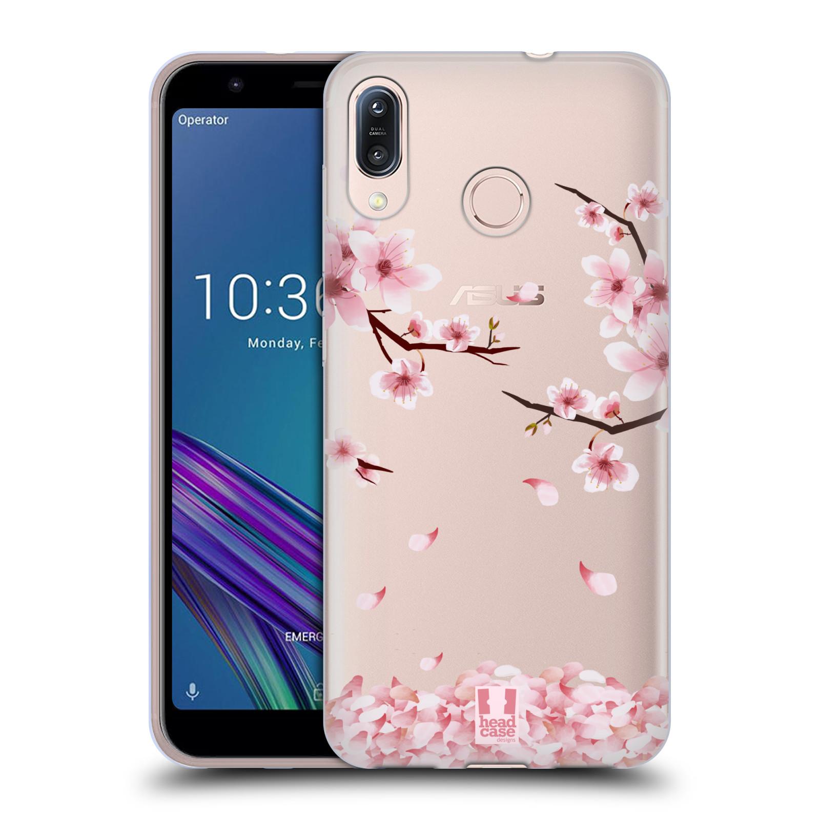 Silikonové pouzdro na mobil Asus Zenfone Max M1 ZB555KL - Head Case - Květy a větvičky