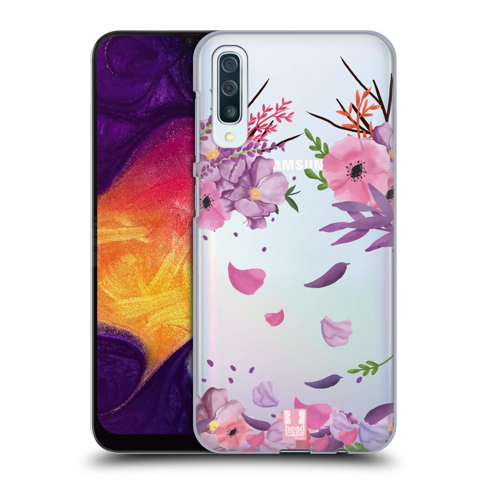 Plastové pouzdro na mobil Samsung Galaxy A50 - Head Case - Okvětní lístky