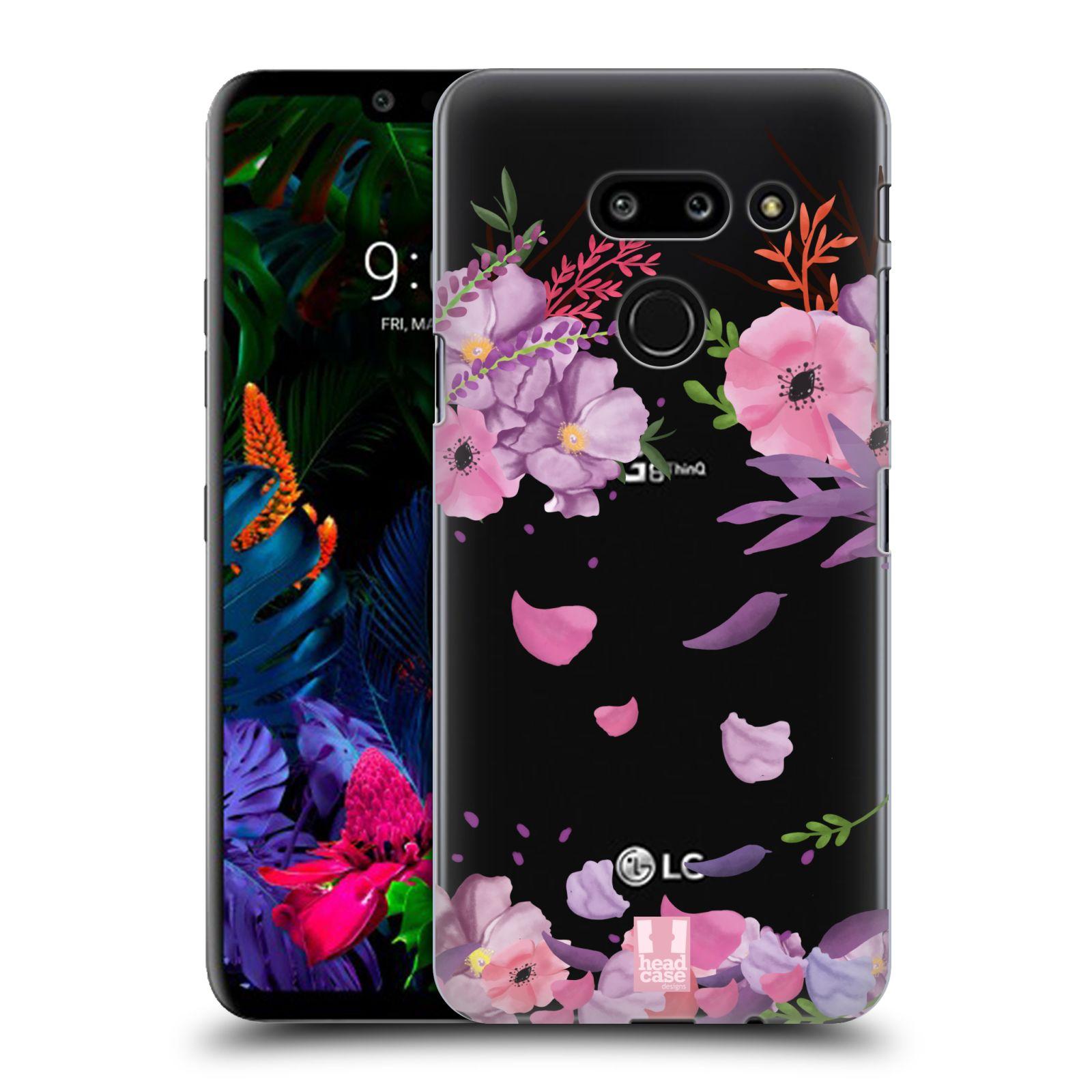 Plastové pouzdro na mobil LG G8 ThinQ - Head Case - Okvětní lístky