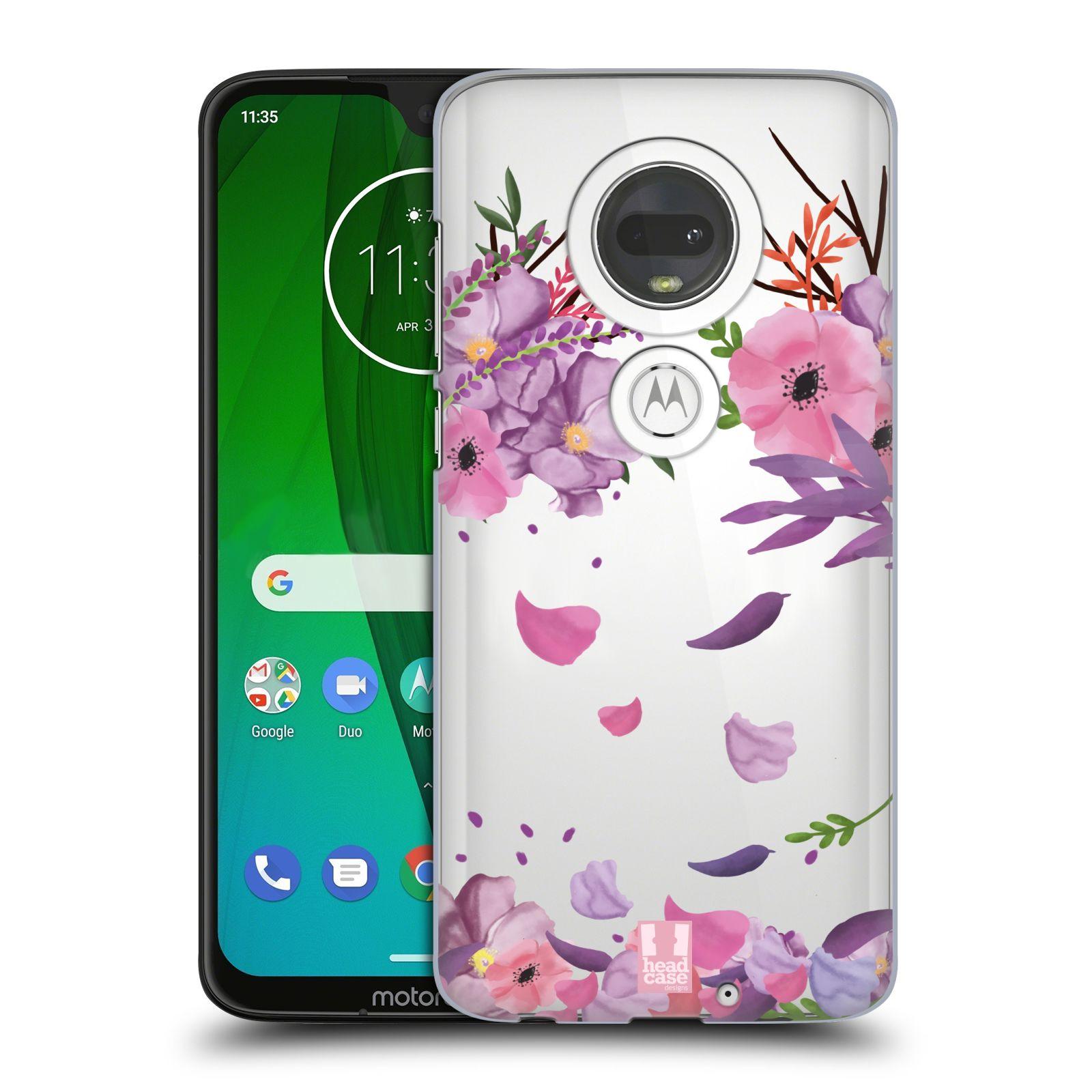 Plastové pouzdro na mobil Motorola Moto G7 - Head Case - Okvětní lístky