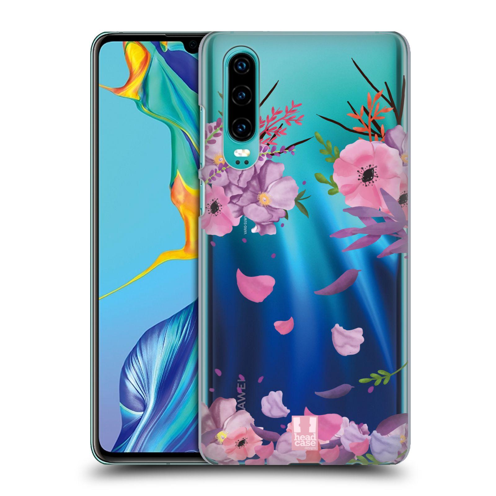 Plastové pouzdro na mobil Huawei P30 - Head Case - Okvětní lístky