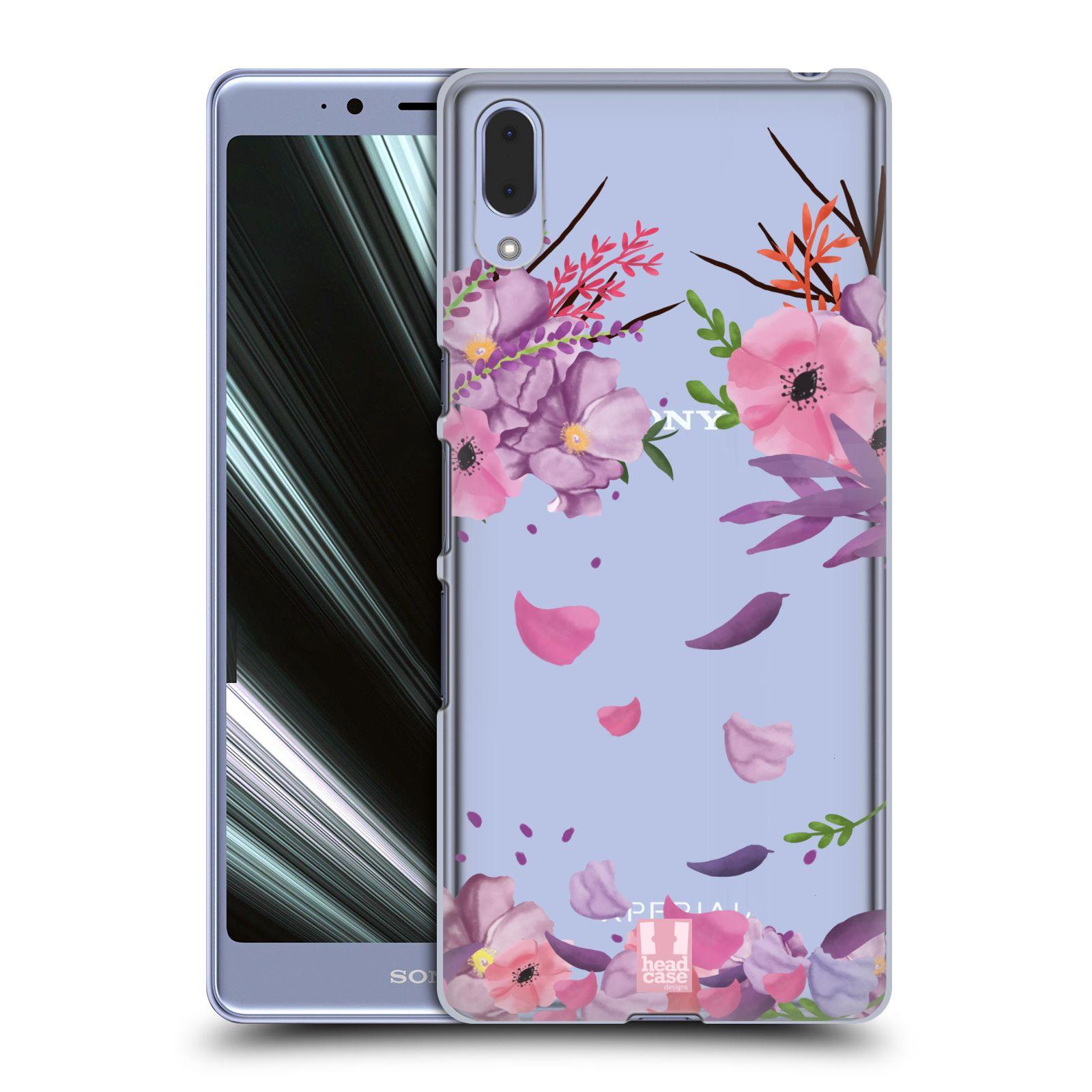 Plastové pouzdro na mobil Sony Xperia L3 - Head Case - Okvětní lístky