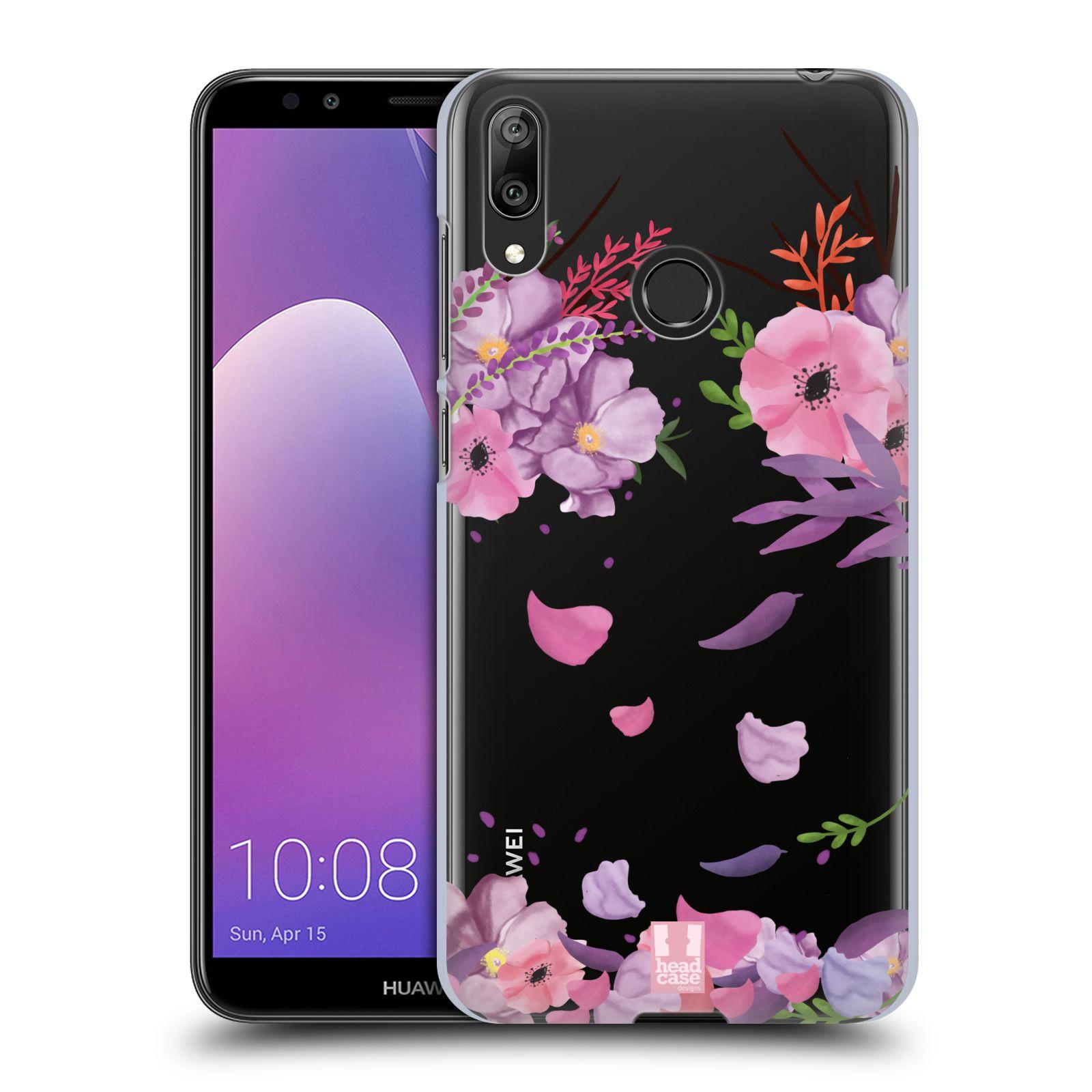 Plastové pouzdro na mobil Huawei Y7 (2019) - Head Case - Okvětní lístky