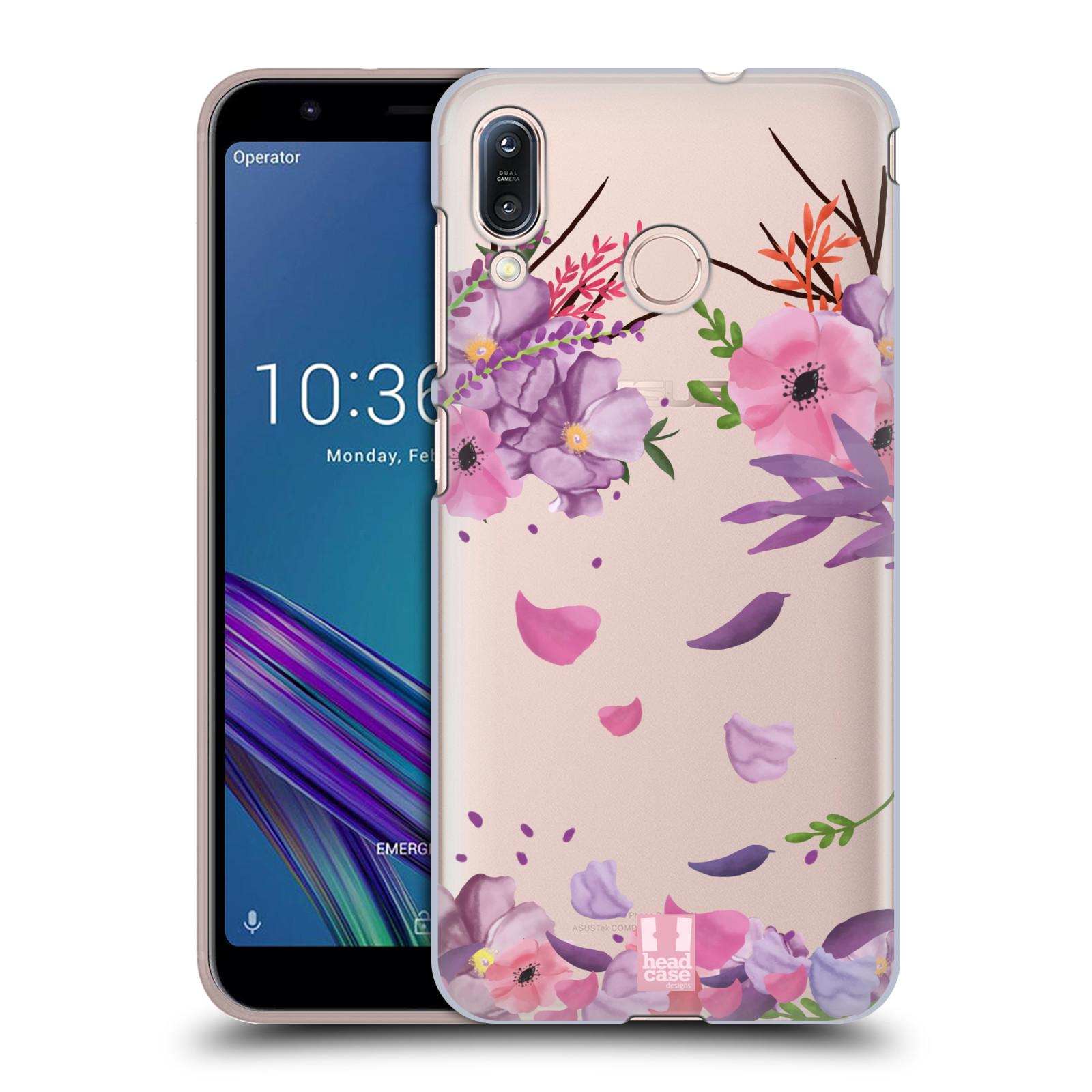 Plastové pouzdro na mobil Asus Zenfone Max M1 ZB555KL - Head Case - Okvětní lístky