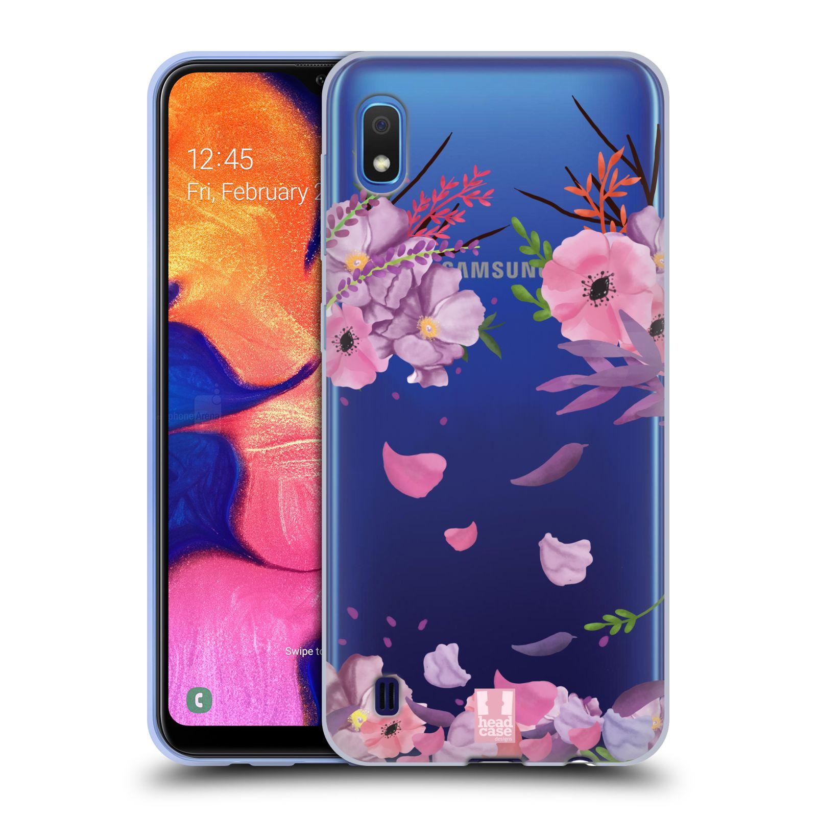 Silikonové pouzdro na mobil Samsung Galaxy A10 - Head Case - Okvětní lístky