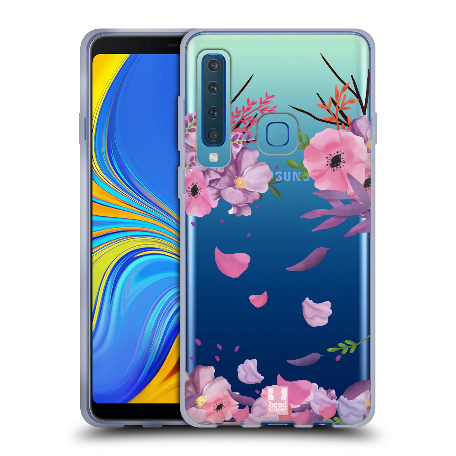 Silikonové pouzdro na mobil Samsung Galaxy A9 (2018) - Head Case - Okvětní lístky