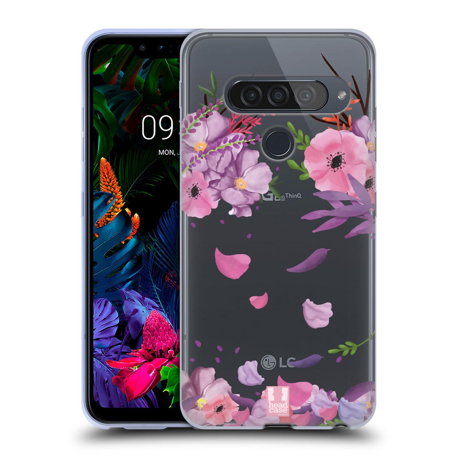 Silikonové pouzdro na mobil LG G8s ThinQ - Head Case - Okvětní lístky
