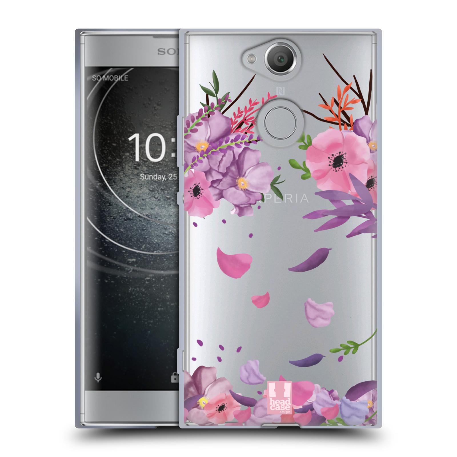 Silikonové pouzdro na mobil Sony Xperia XA2 - Head Case - Okvětní lístky
