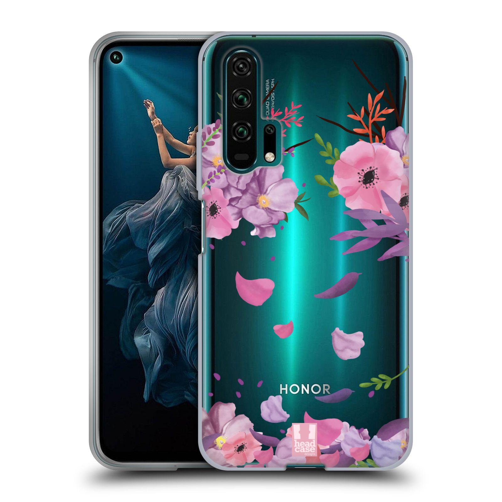 Silikonové pouzdro na mobil Honor 20 Pro - Head Case - Okvětní lístky