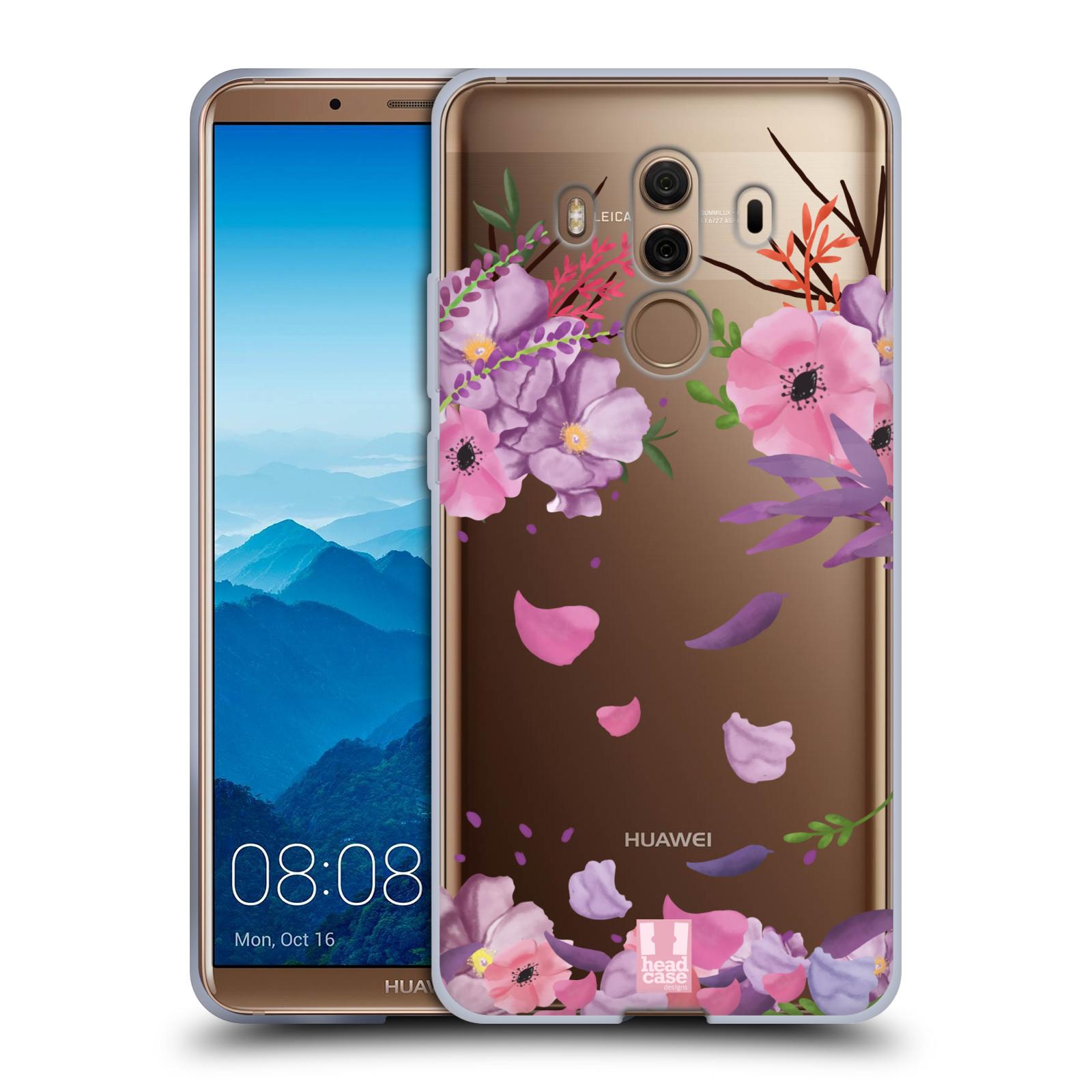 Silikonové pouzdro na mobil Huawei Mate 10 Pro - Head Case - Okvětní lístky